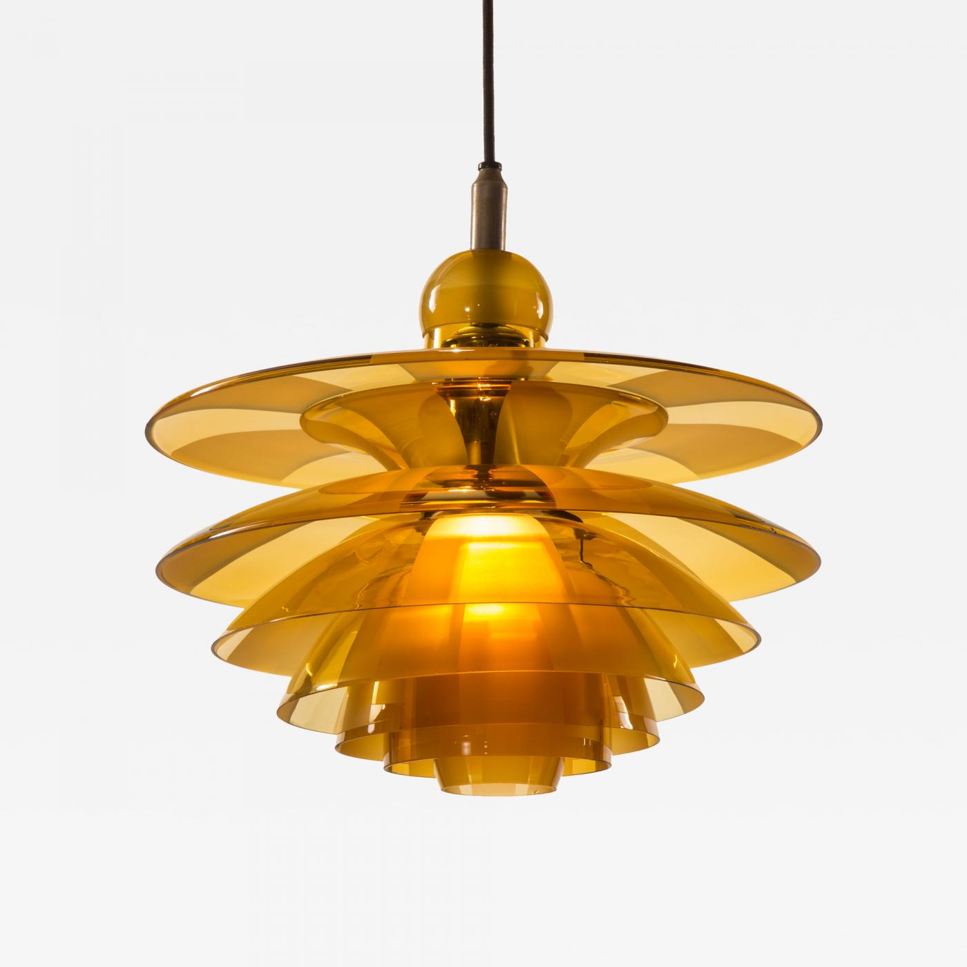 listings furniture lighting cover henningsen glass orange pendants septima poul c a and ph chandelier chandeliers