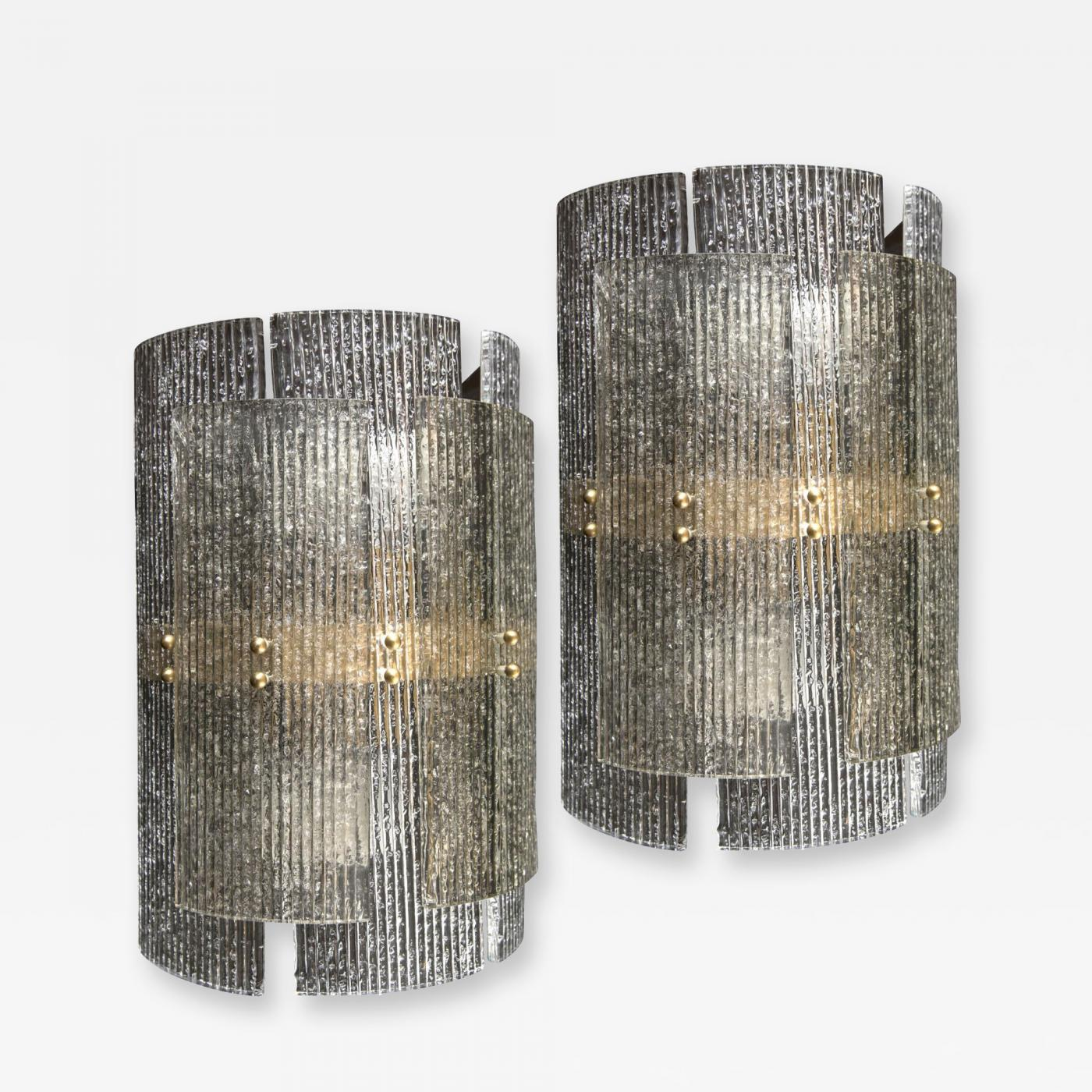 Pair of murano wall lights listings furniture lighting wall lights and sconces mozeypictures Images