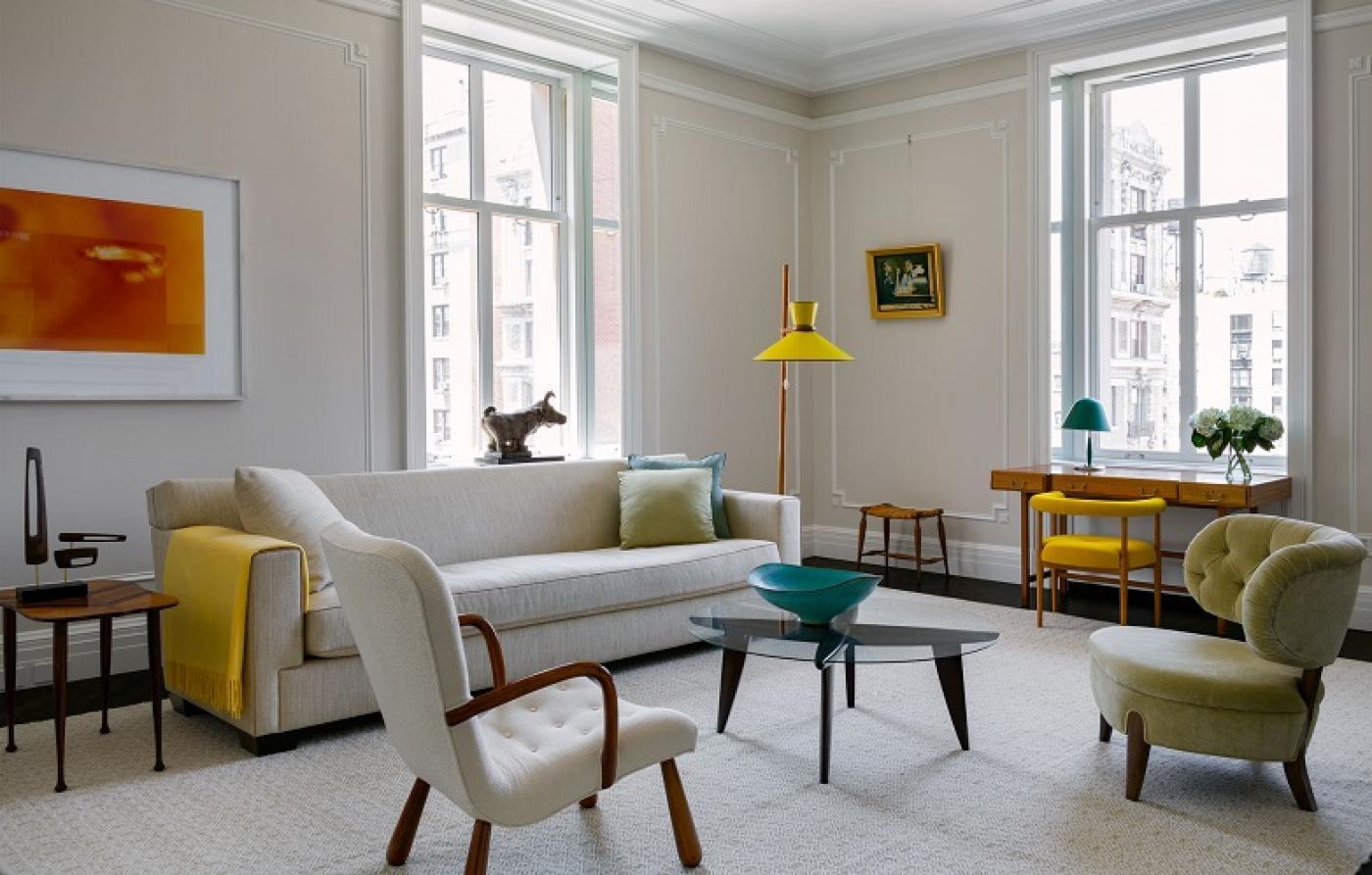 2Michaels Creates Modernist Elegance At The Apthorp