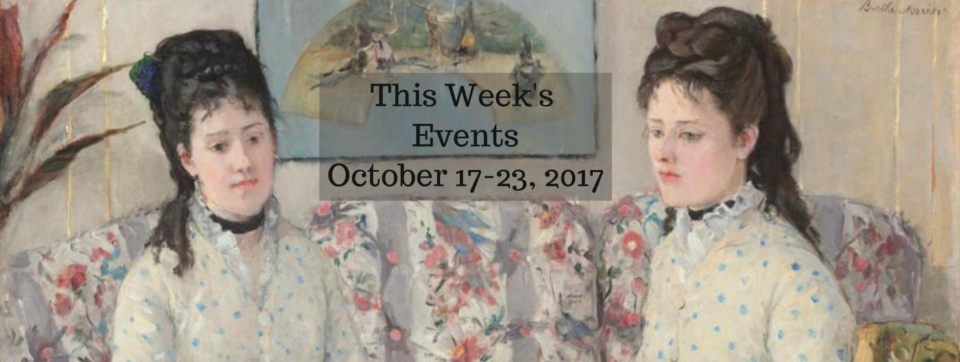 This Week's Events: Modernism Fall Preview, Artist John Sloan, National Design Awards, BIFAS, Women Impressionists & More