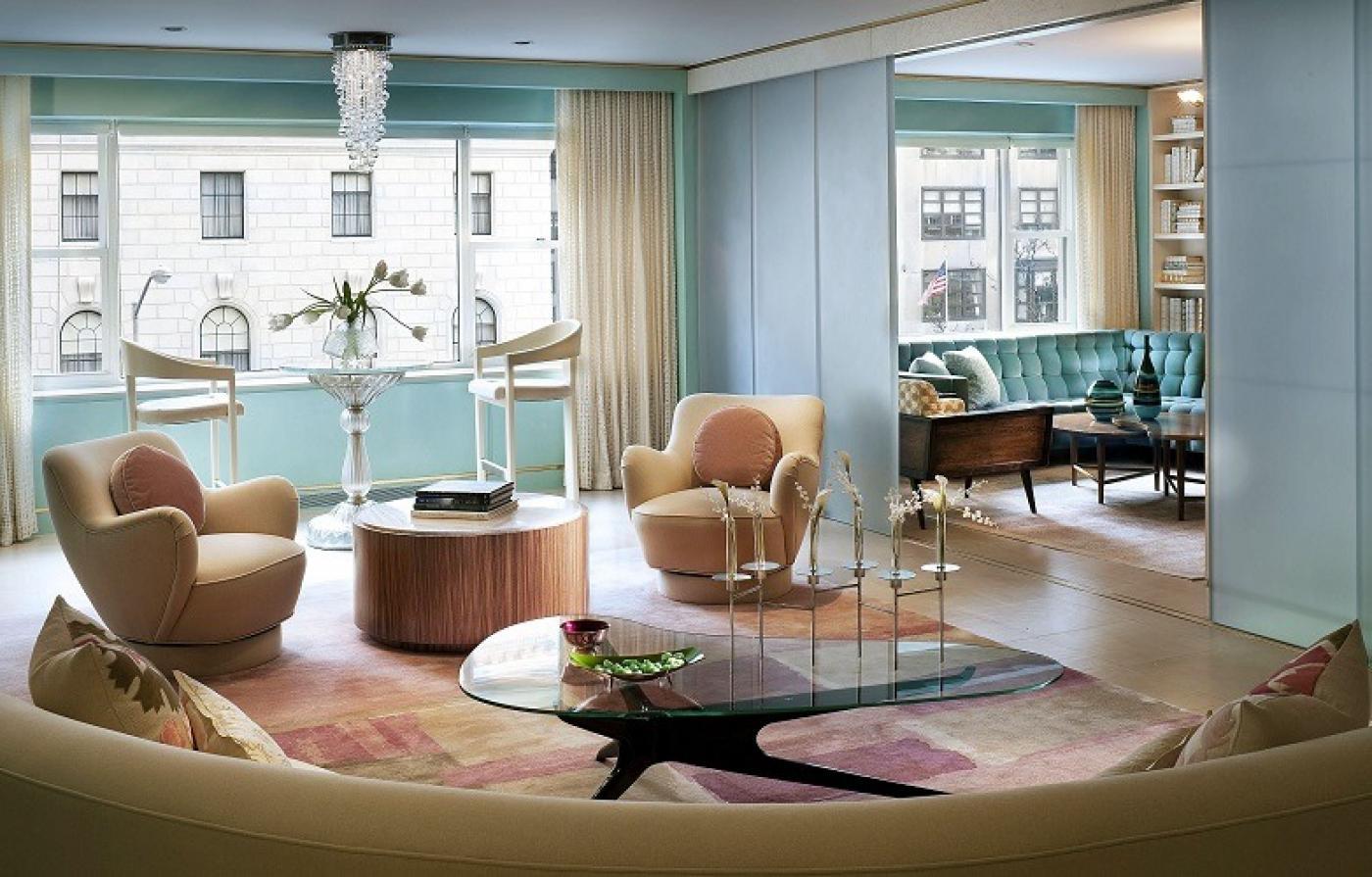 Park Avenue Apartment by Ike Kligerman Barkley
