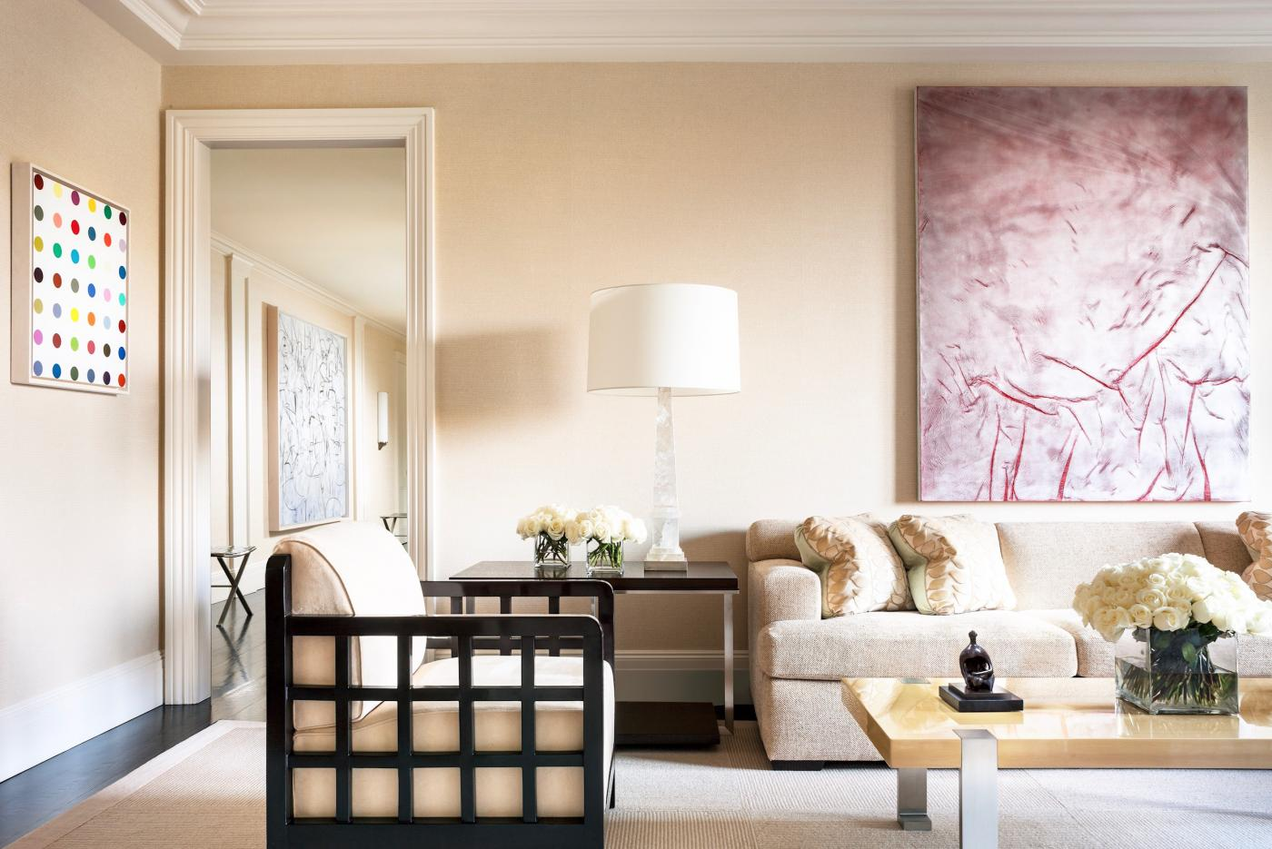 Contemporary Art Collectors Fifth Avenue Home