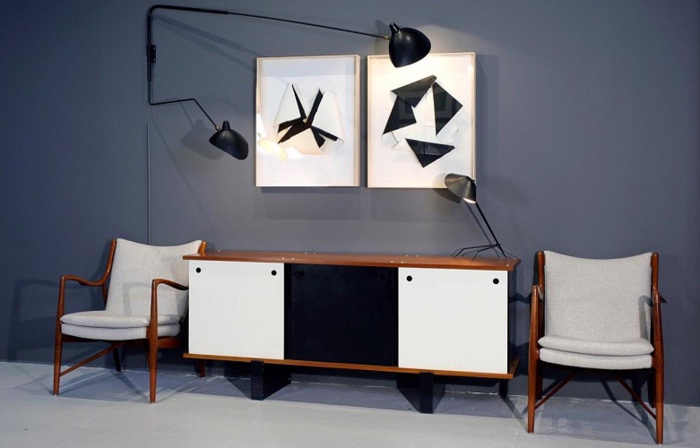 Serge Mouille Originals Show Opens at Dobrinka Salzman Gallery