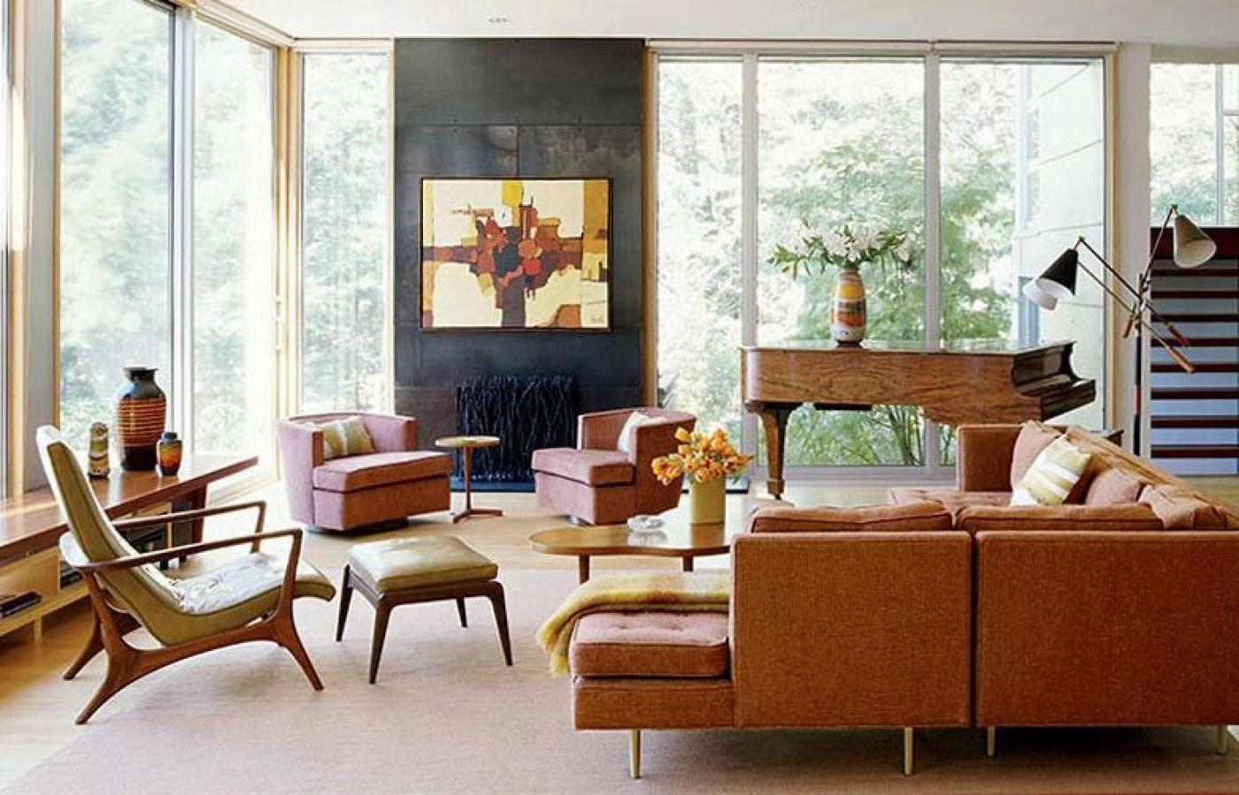An Autumn Woodland Walk Inspires A Warm and Expressive Home by Amy Lau
