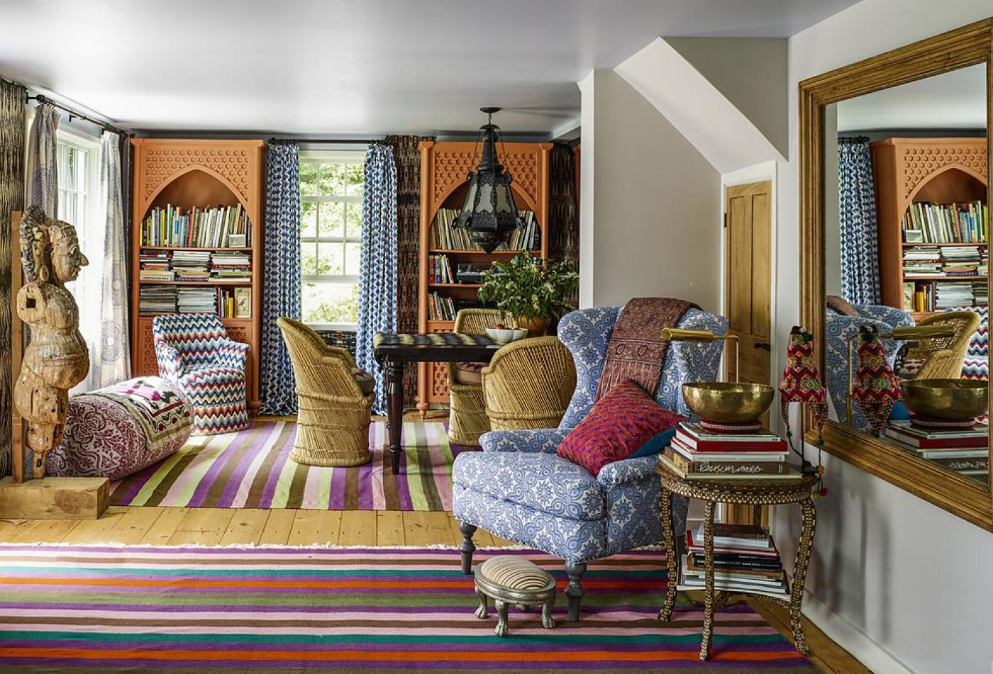 Sara Bengur Interiors living room