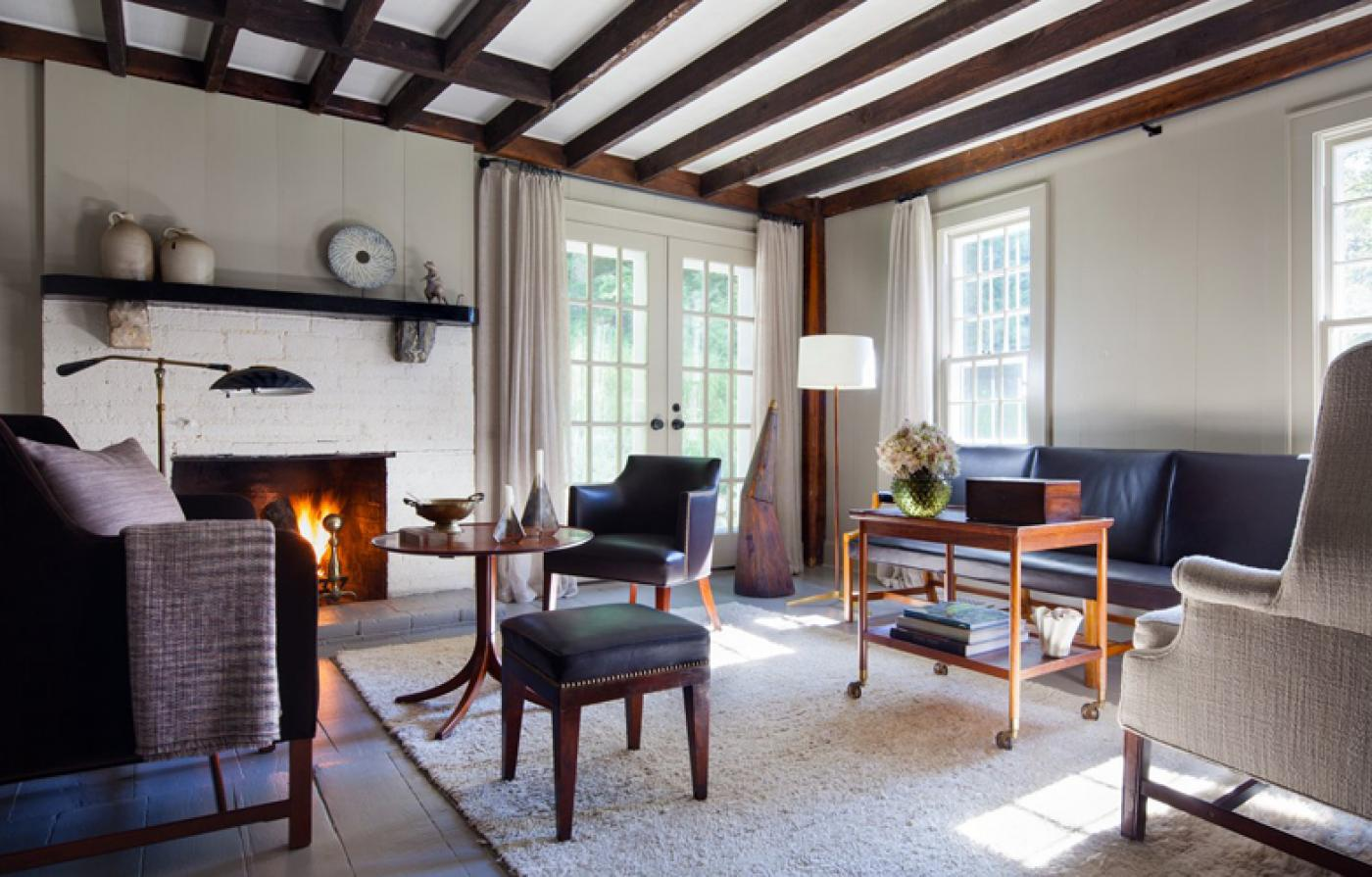 Subdued Elegance Meets Rustic Charm In Shawn Henderson's Upstate New York Retreat