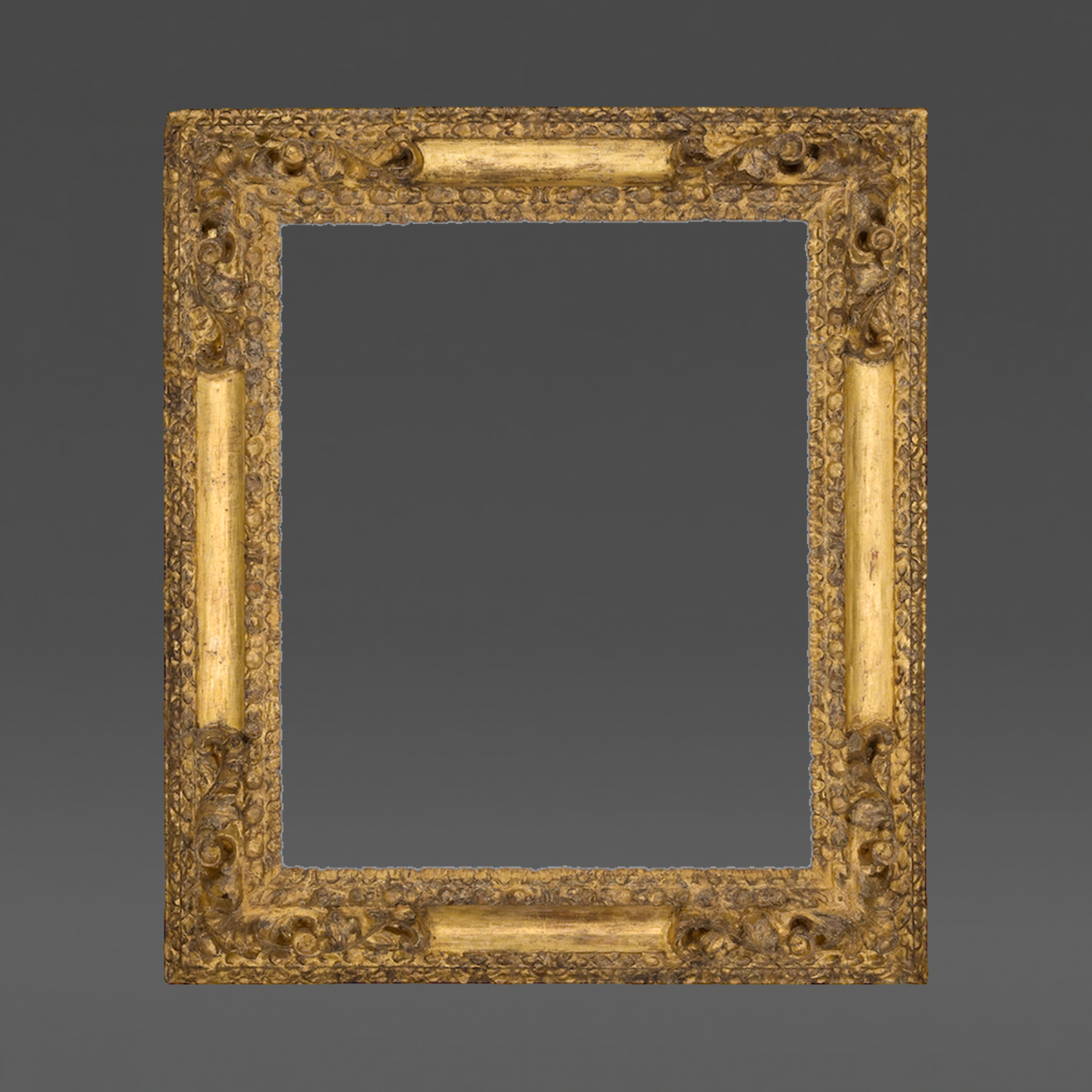 17th Century Spanish Receding Frame with Corners