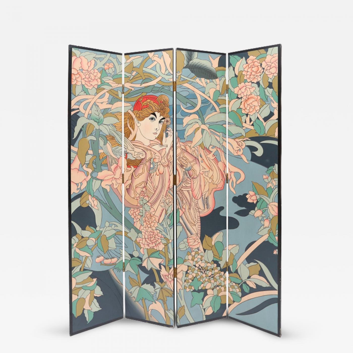 Admirable 1970S Oriental Room Divider Interior Design Ideas Tzicisoteloinfo