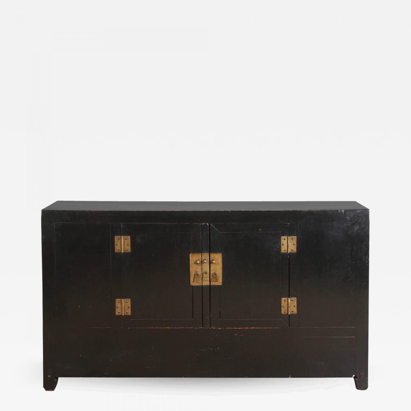 Century Black Chinese Sideboard