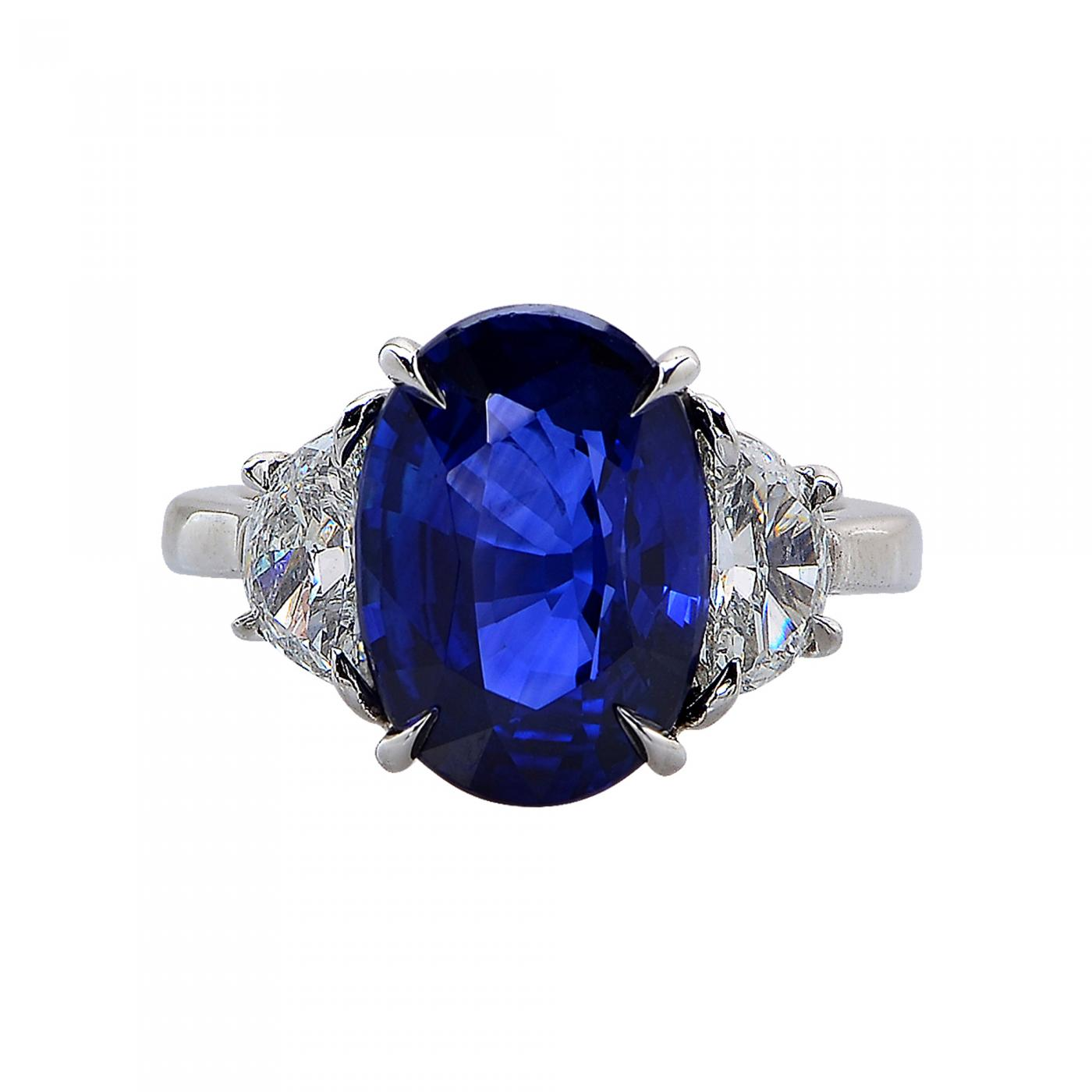 natural sapphire blue royal platinum tcw cushion rings ring saffire more certified views gia