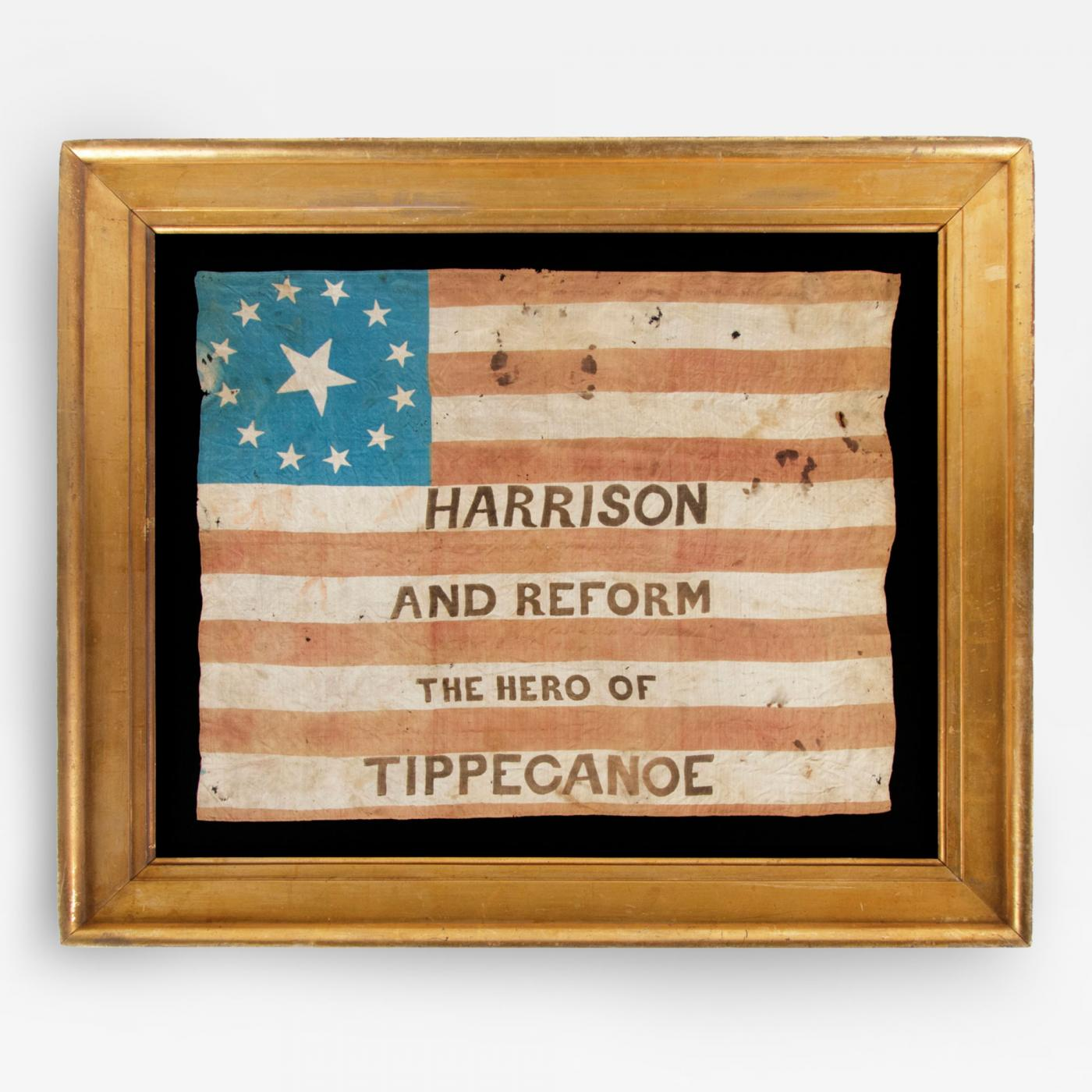 Dillsburg (PA) United States  city pictures gallery : Rare Example Parade Flag From The 1840 Presidential Campaign of W. H ...