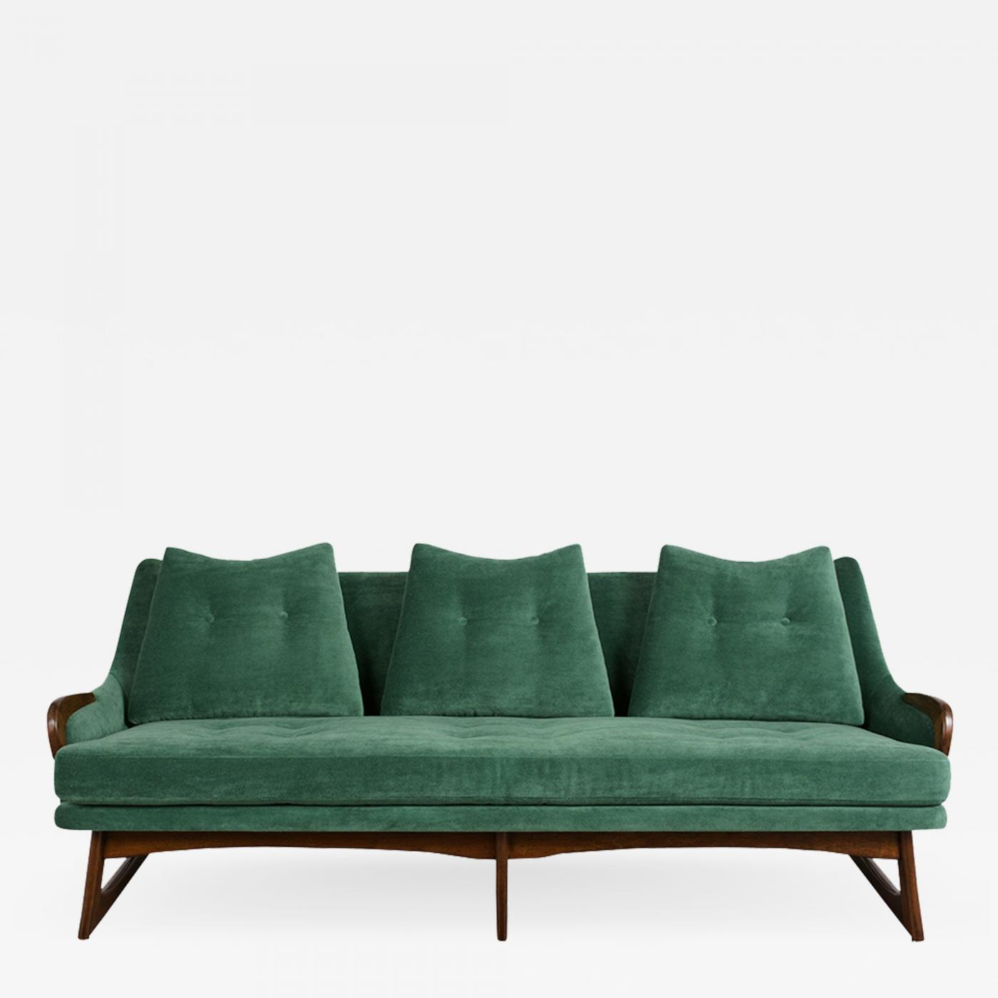 Adrian Pearsall - Completely Restored Mid Century Modern Sofa Attributed to  Adrian Pearsall