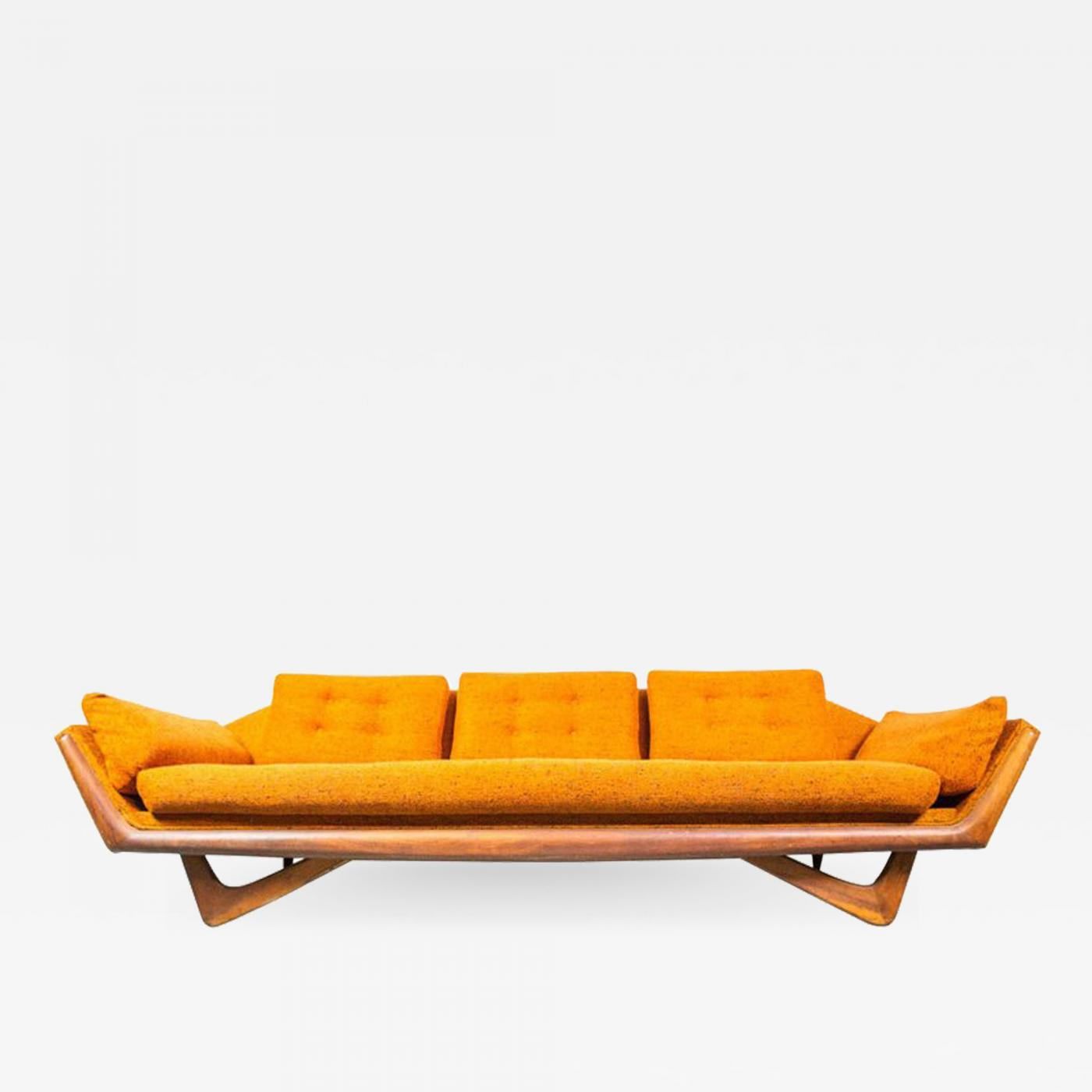 Remarkable Adrian Pearsall Gondola Sofa By Adrian Pearsall For Craft Associates Uwap Interior Chair Design Uwaporg