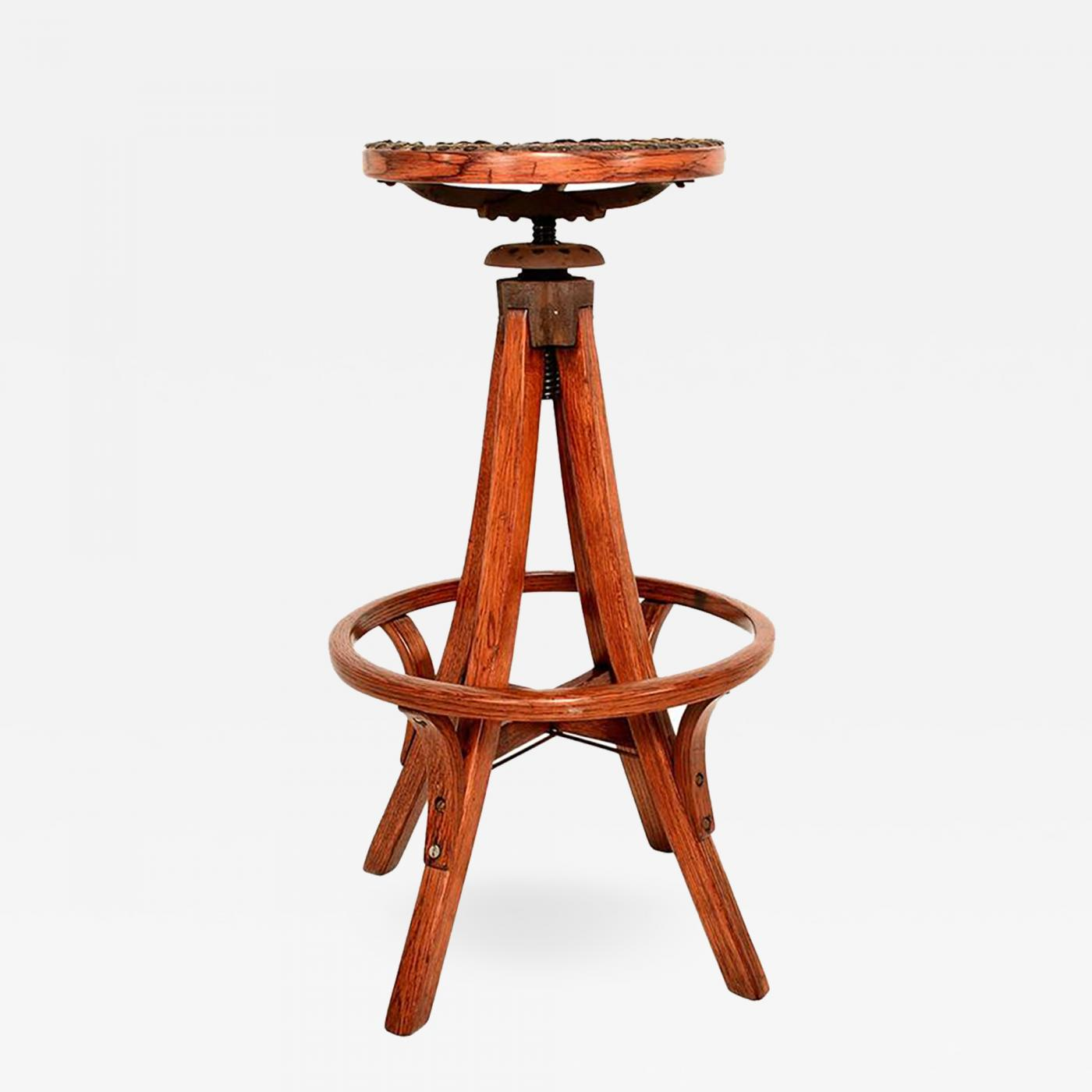 Pleasant Antique Architects Drafting Stool Caraccident5 Cool Chair Designs And Ideas Caraccident5Info