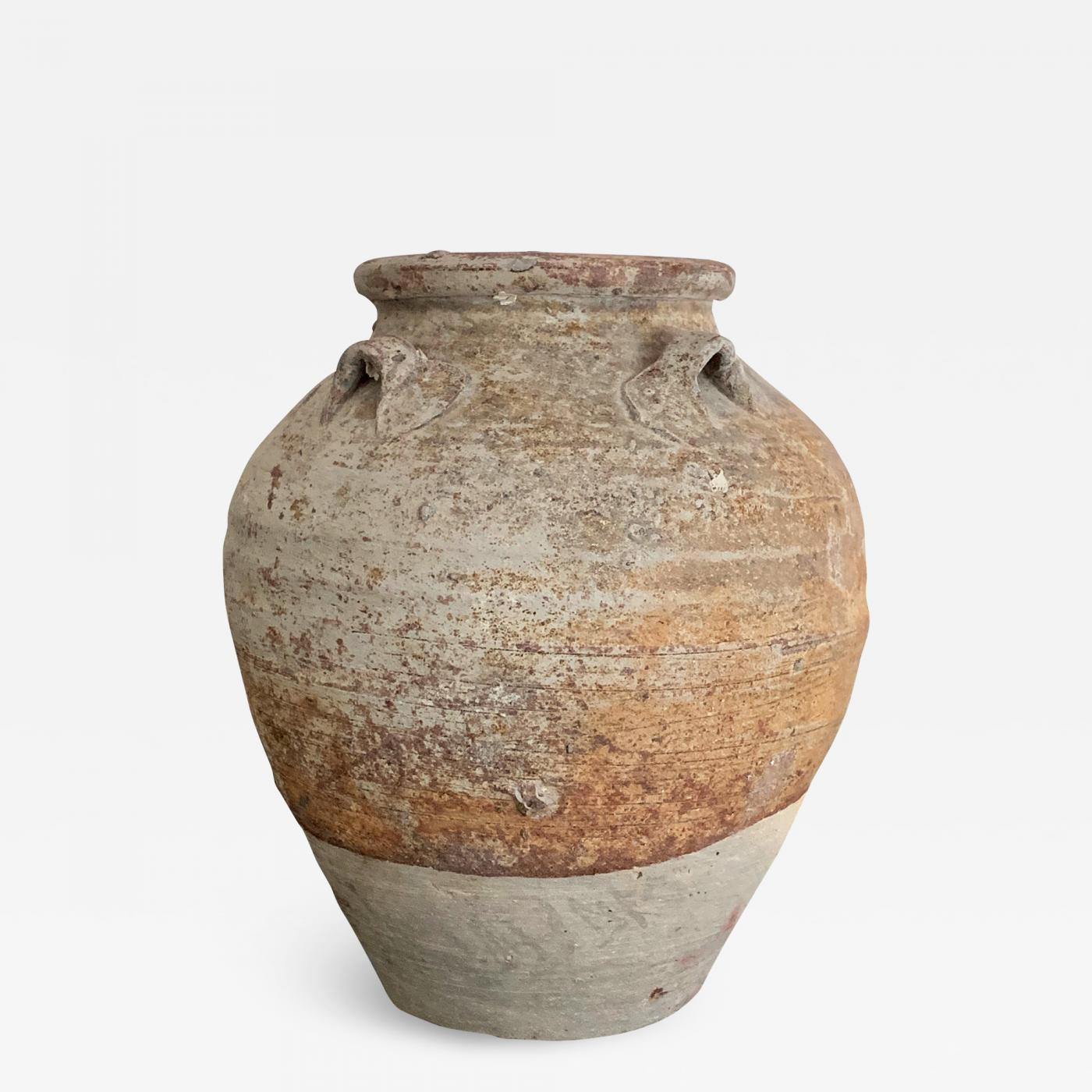 Antique Chinese Ceramic Storage Jar Song Yuan Dynasty