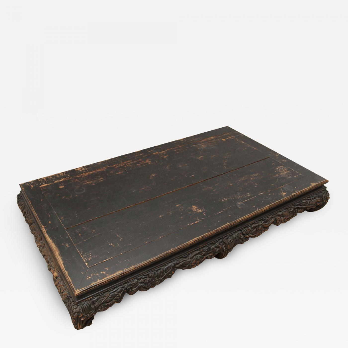 """Antique Chinese """"Opium Bed"""" Coffee Table"""