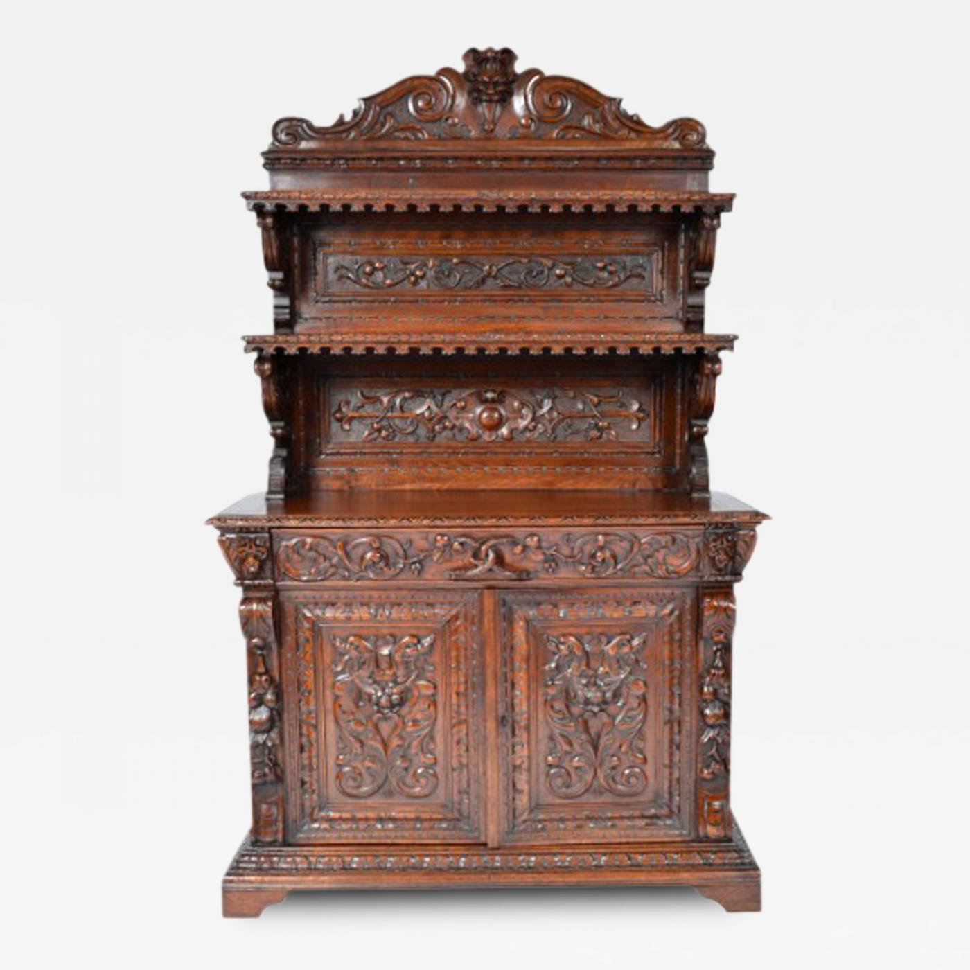 Listings / Furniture / Case Pieces / Cabinets · Antique Renaissance Henry  II Style ...