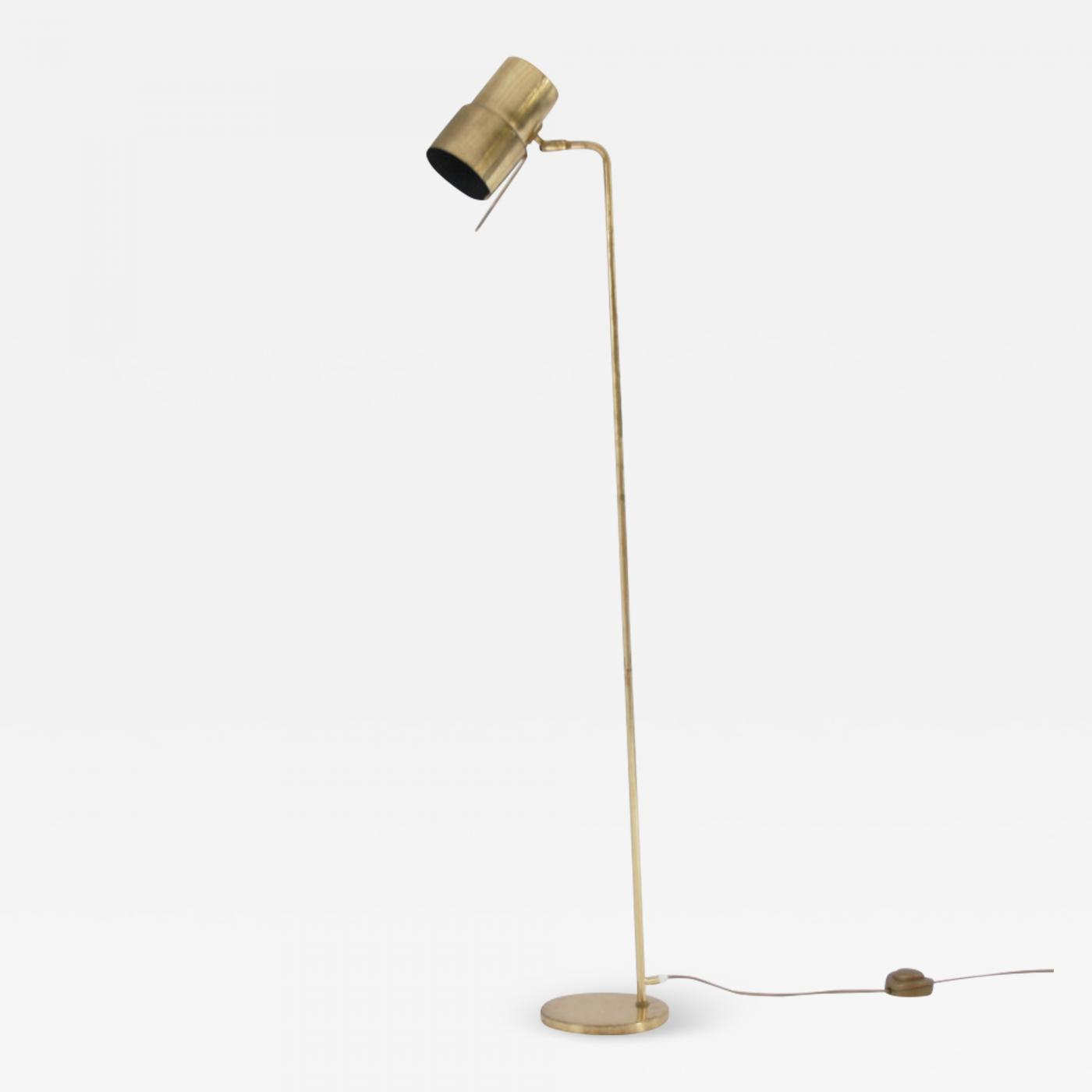 size 40 68d51 a0bde Arne Jacobsen - Vintage Brass Floor Lamp by Jacobsen