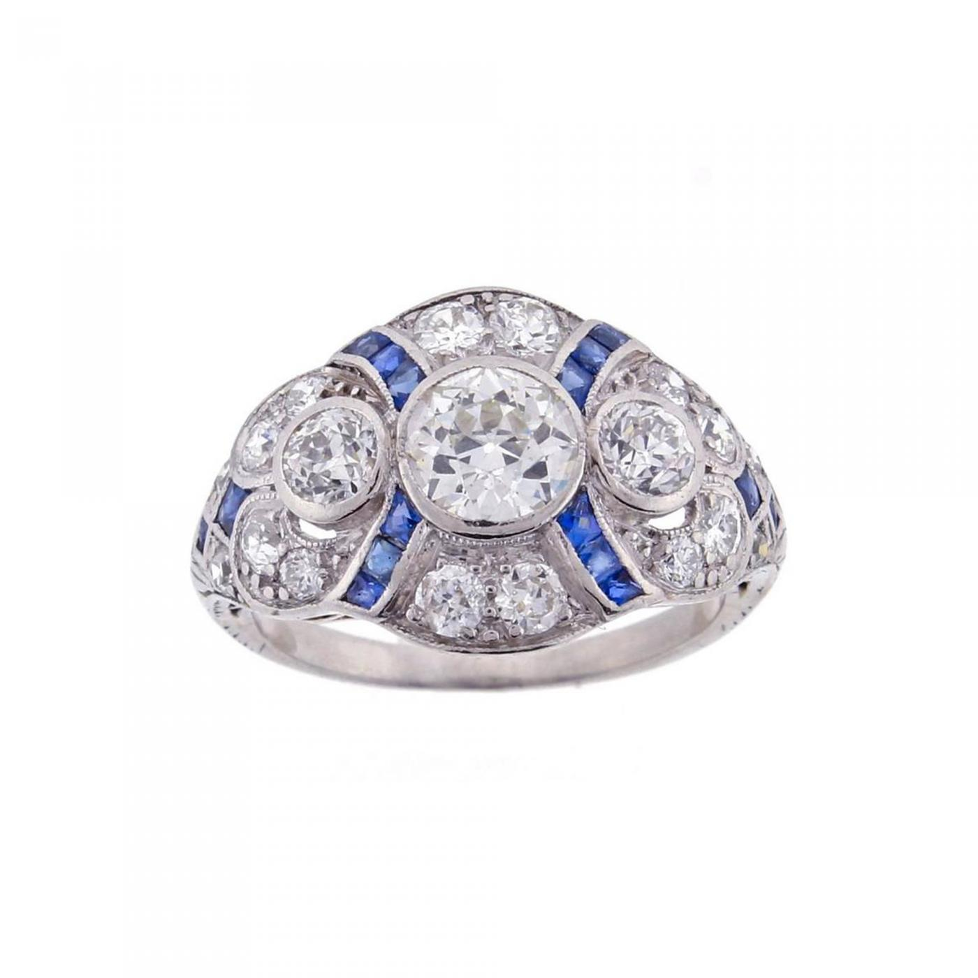 ceylon webstore samuel sapphire ring rings product number jewellery gold d and h diamond cluster