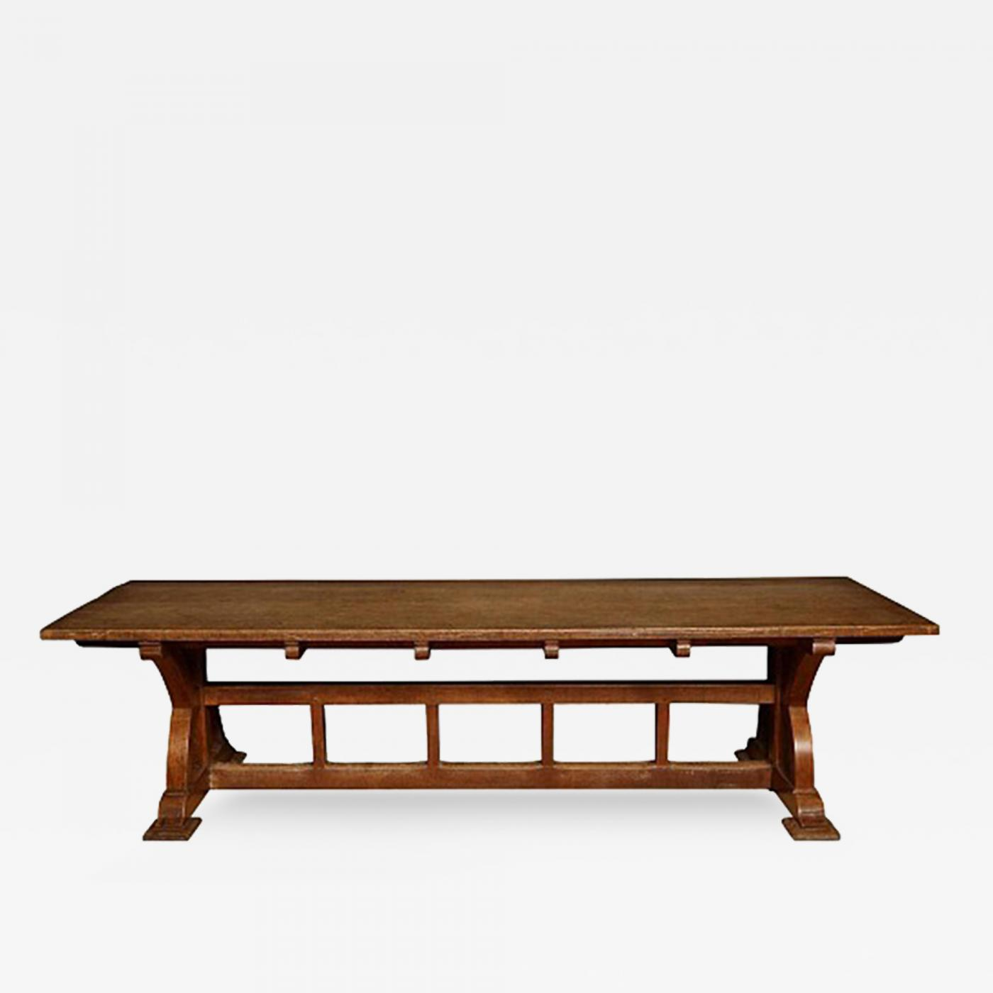 Arthur Romney Green A Arts and Crafts Oak Library Table
