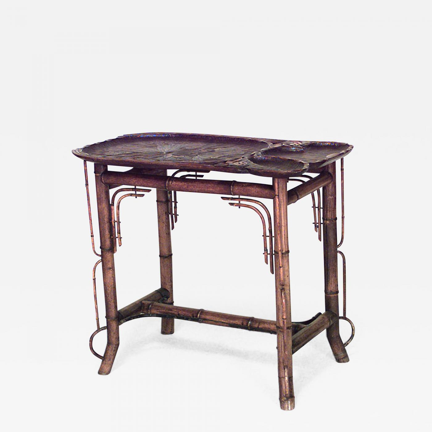 Victorian End Table Listings - Furniture - Tables - Side Tables · Bamboo French Victorian End  Table