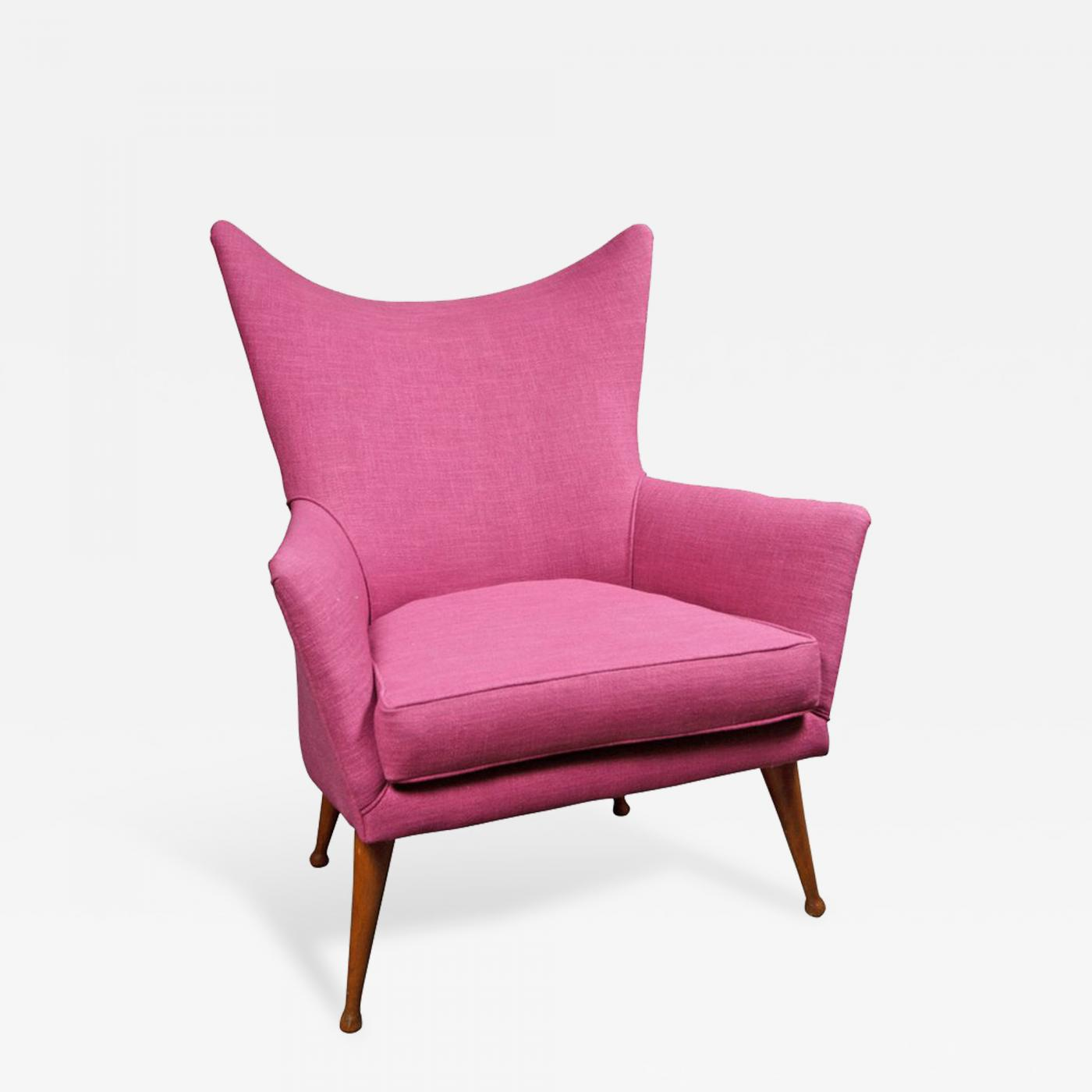 S 84 Wingback Armchair Attributed To Ben Seibel