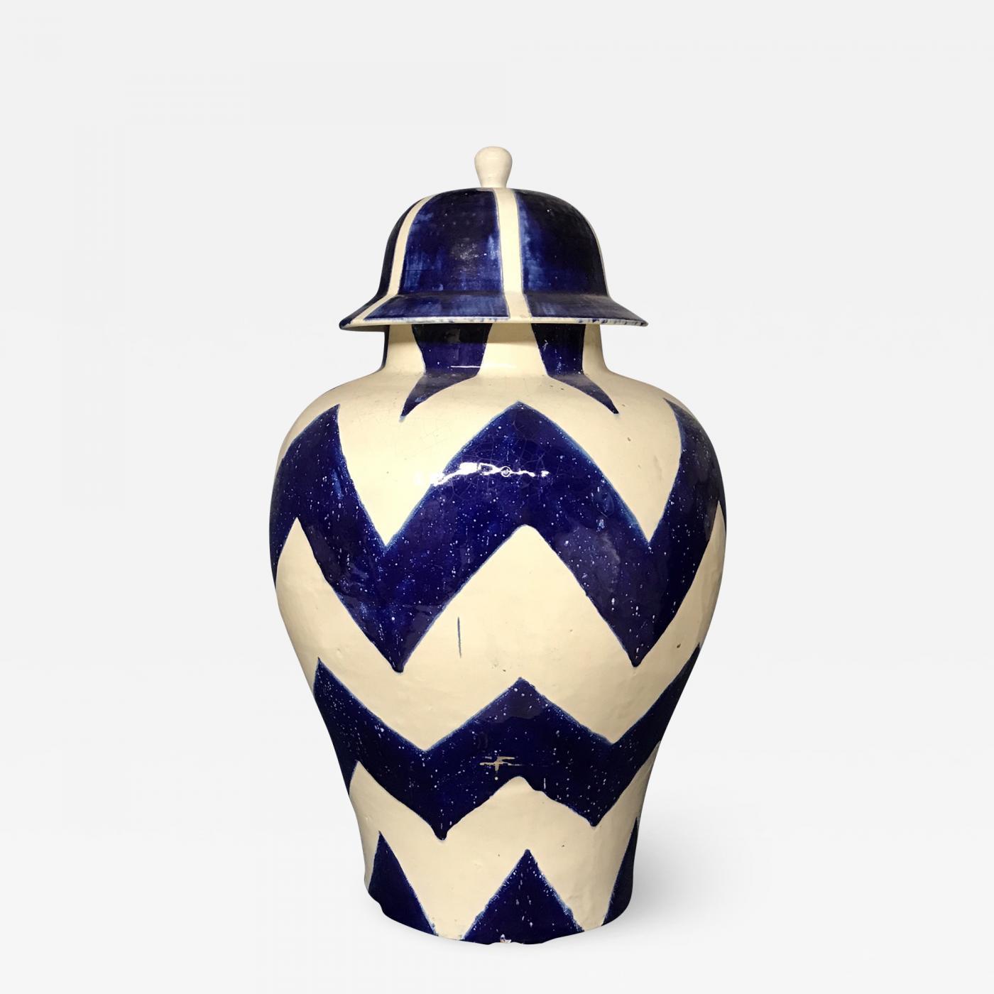Blue and White Talavera Ginger Jars