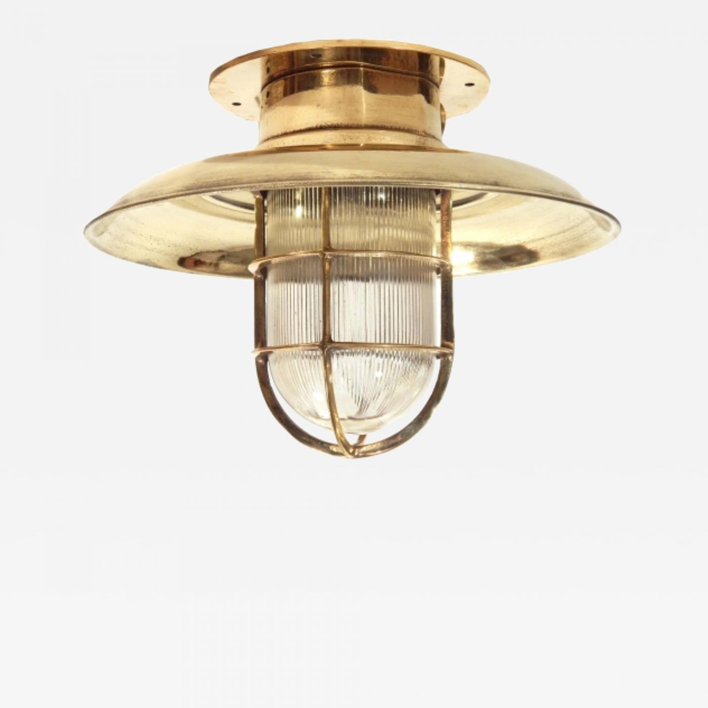 Brass Nautical Ceiling Lights
