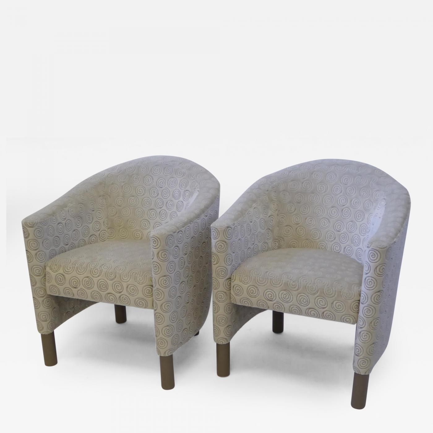 Brayton international collection pair of tub chairs by for International collection