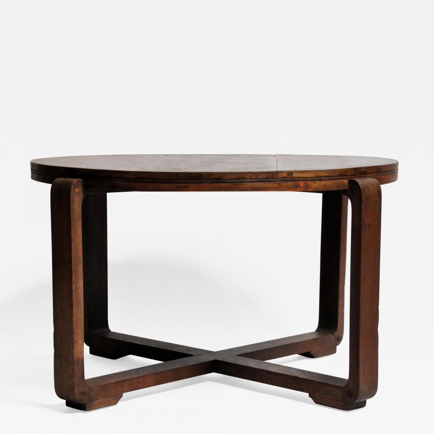 British Colonial Art Deco Tea Table