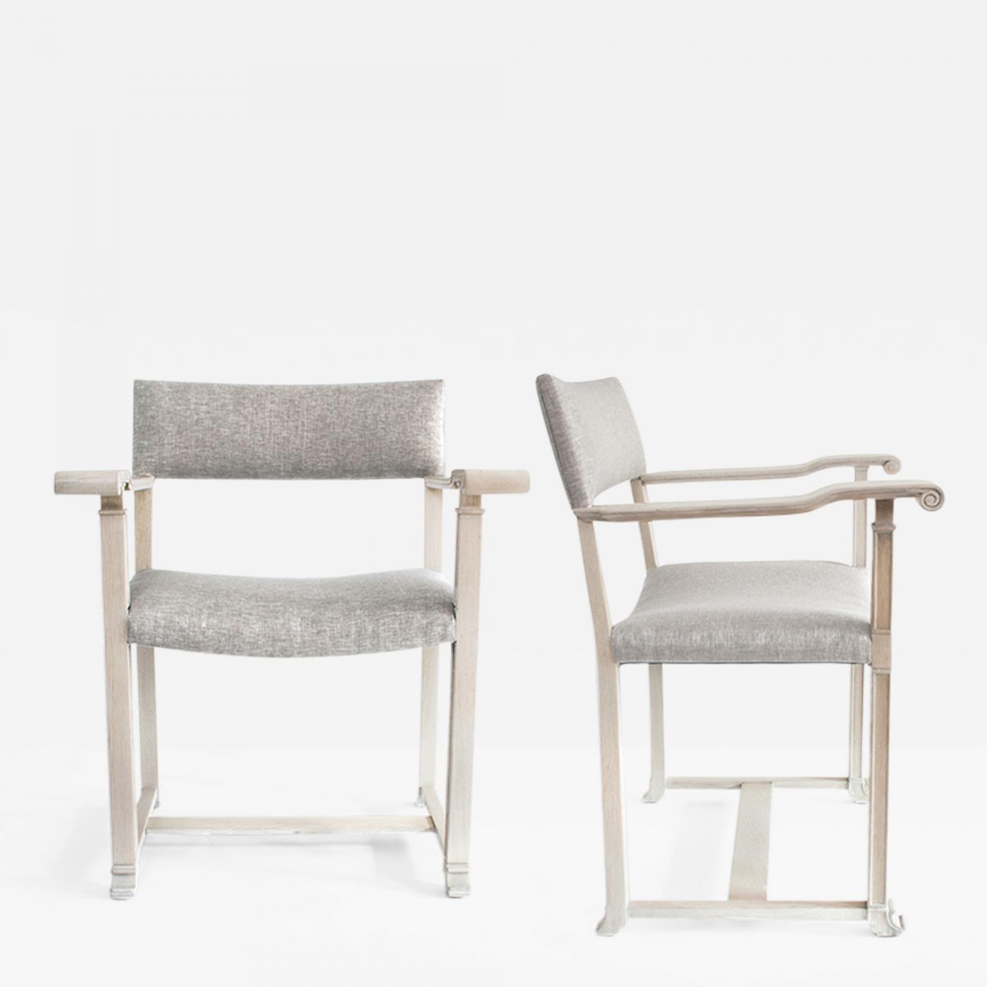 Outstanding Carl Bergsten Pair Of Scandinavian Modern White Oak Chairs Carl Bergsten Theyellowbook Wood Chair Design Ideas Theyellowbookinfo