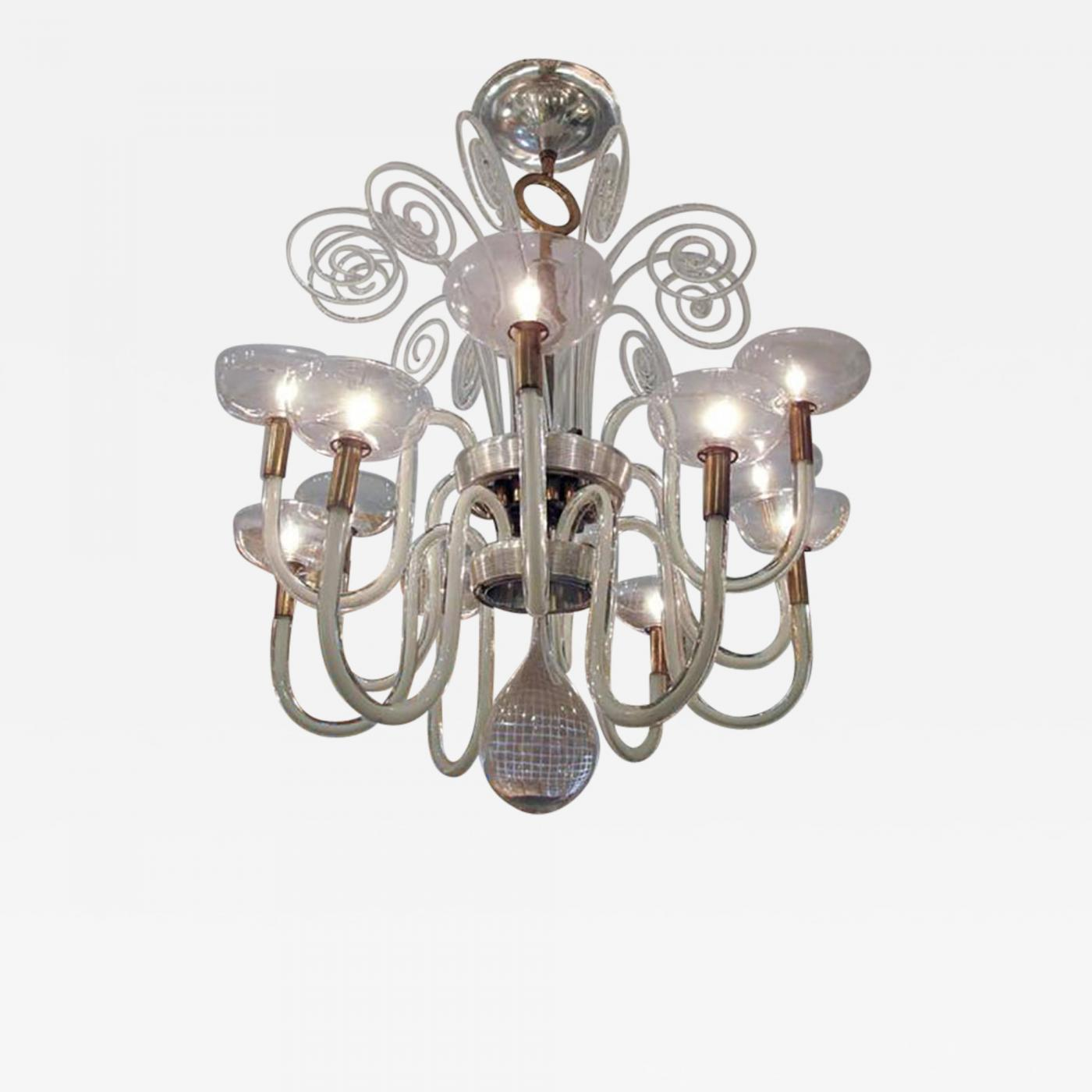 Carlo scarpa important vintage venini chandelier by carlo scarpa listings furniture lighting chandeliers and pendants aloadofball Images