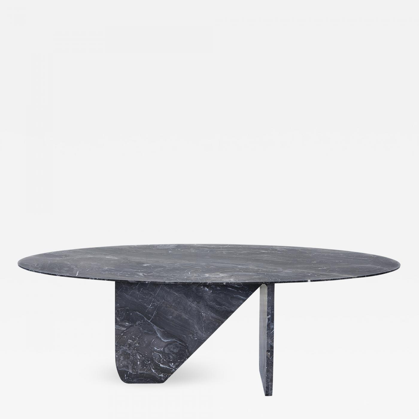 Tbl Furniture Oval Marble Dining Table