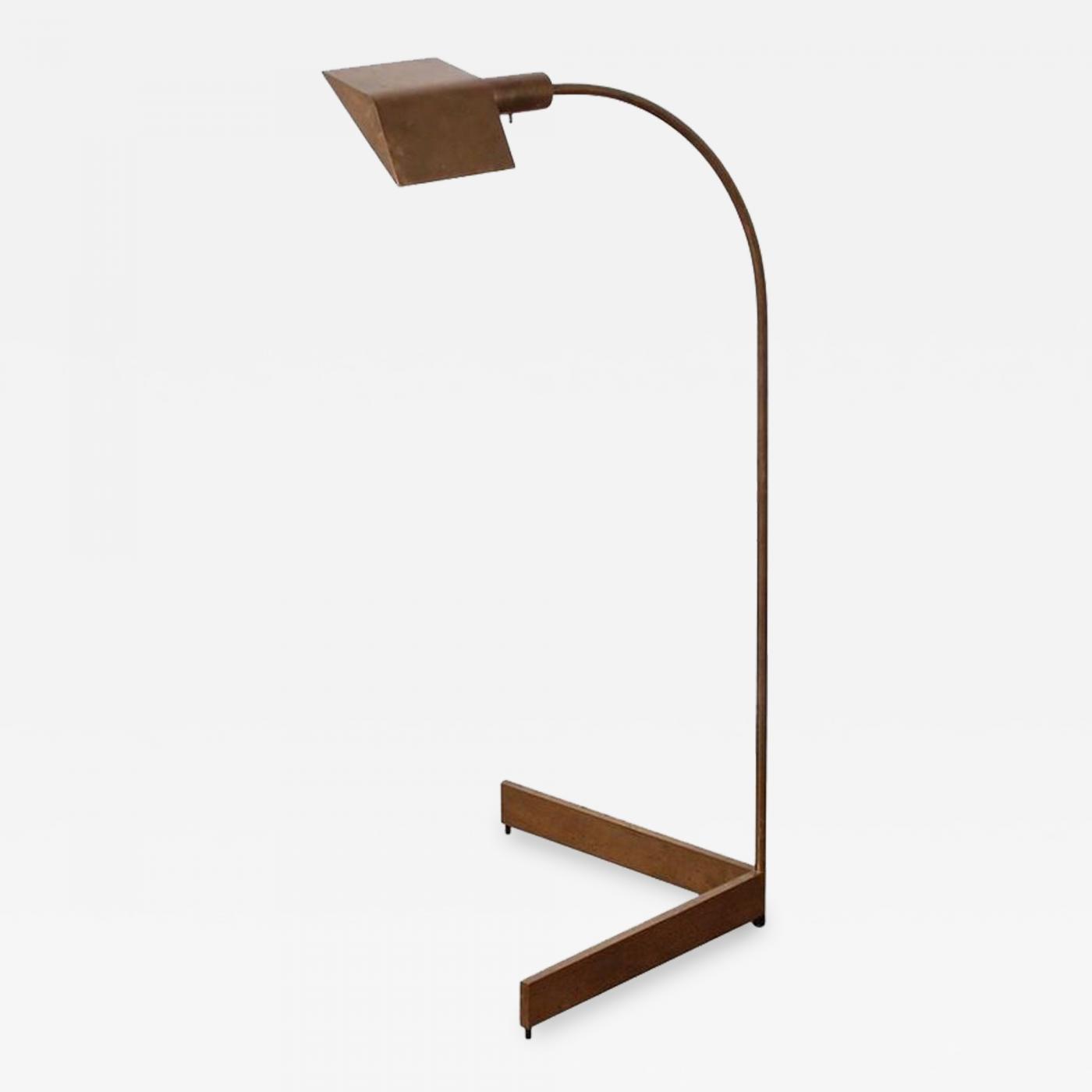 Cedric Hartman Brass Swivel Floor Lamp Lighting Home ...