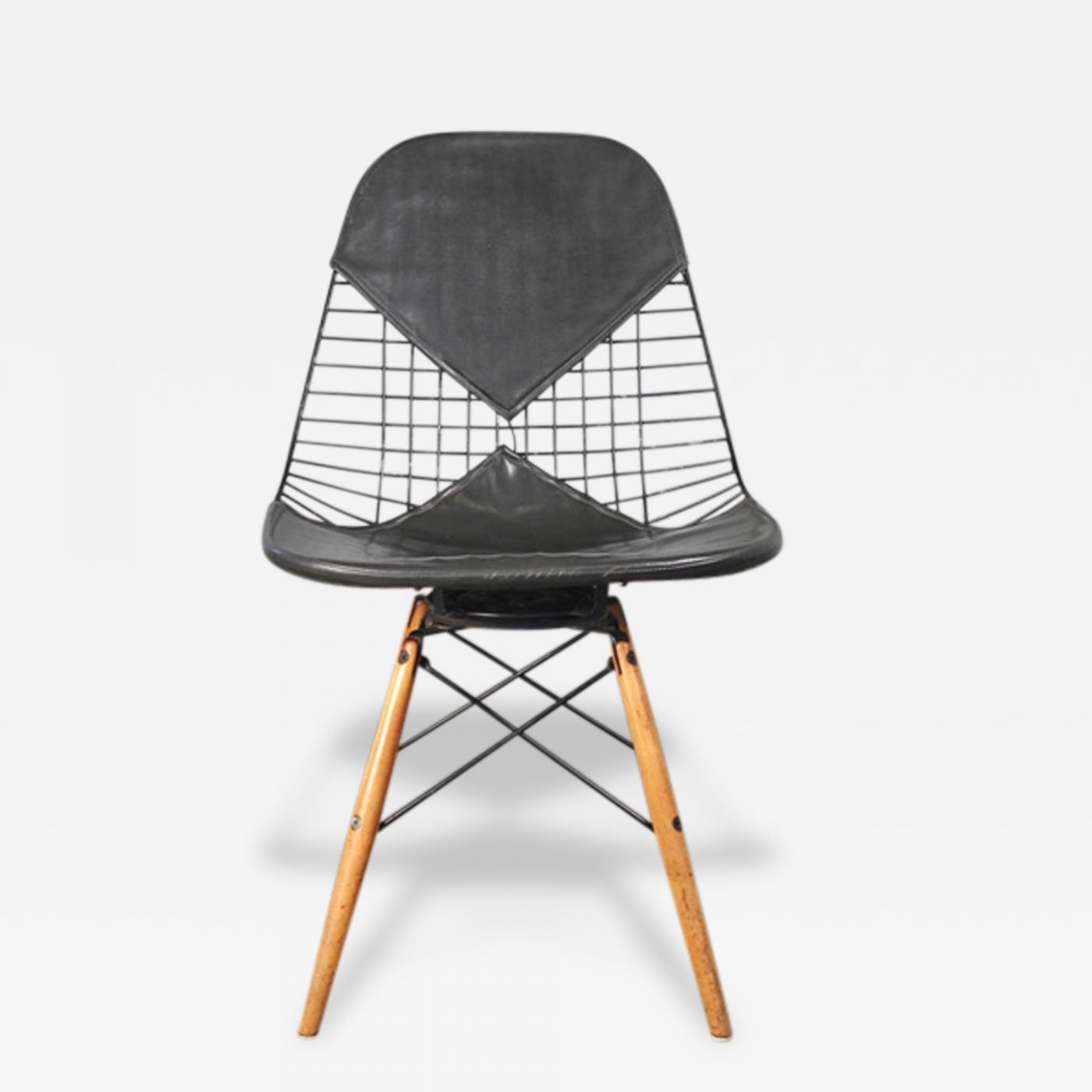 Charles Eames Early Eames PKW Wire Swivel Chair