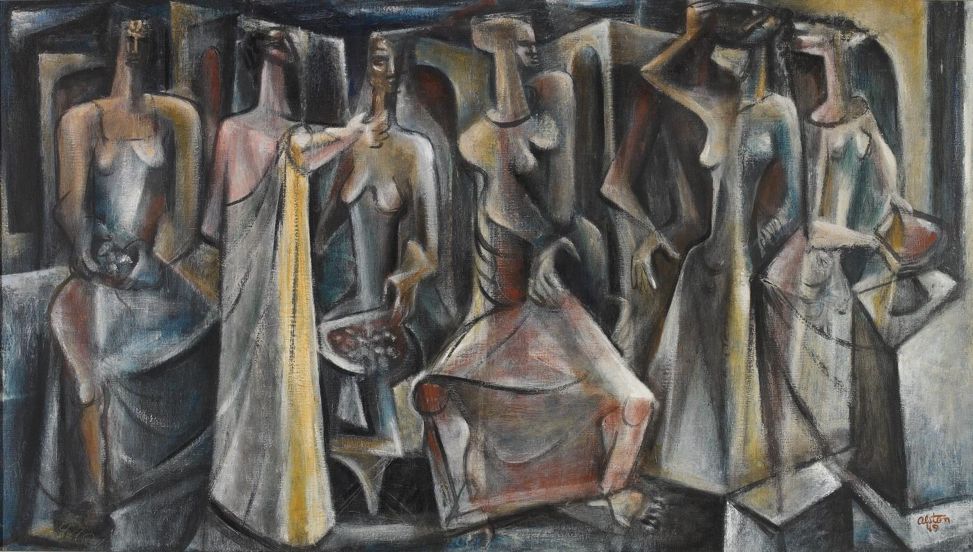 Charles Henry Alston Untitled Seven Figures
