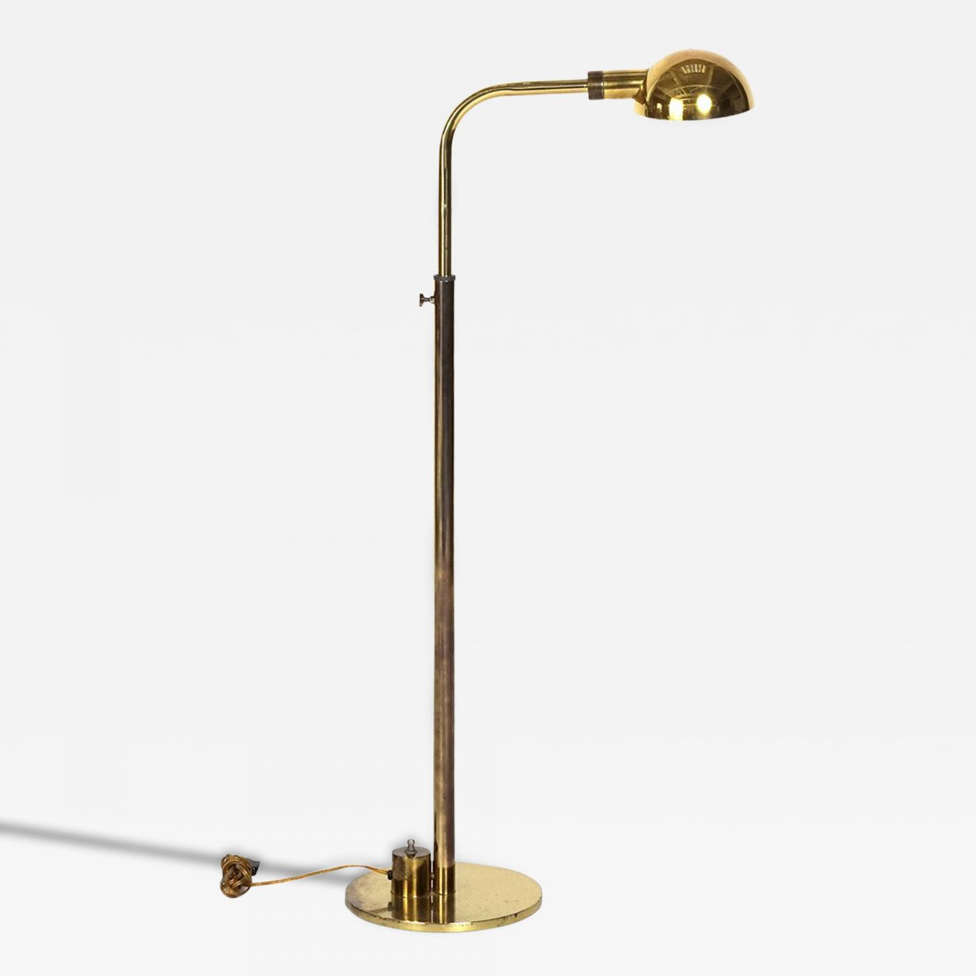 charles hollis jones height adjustable floor lamp by charles hollis. Black Bedroom Furniture Sets. Home Design Ideas