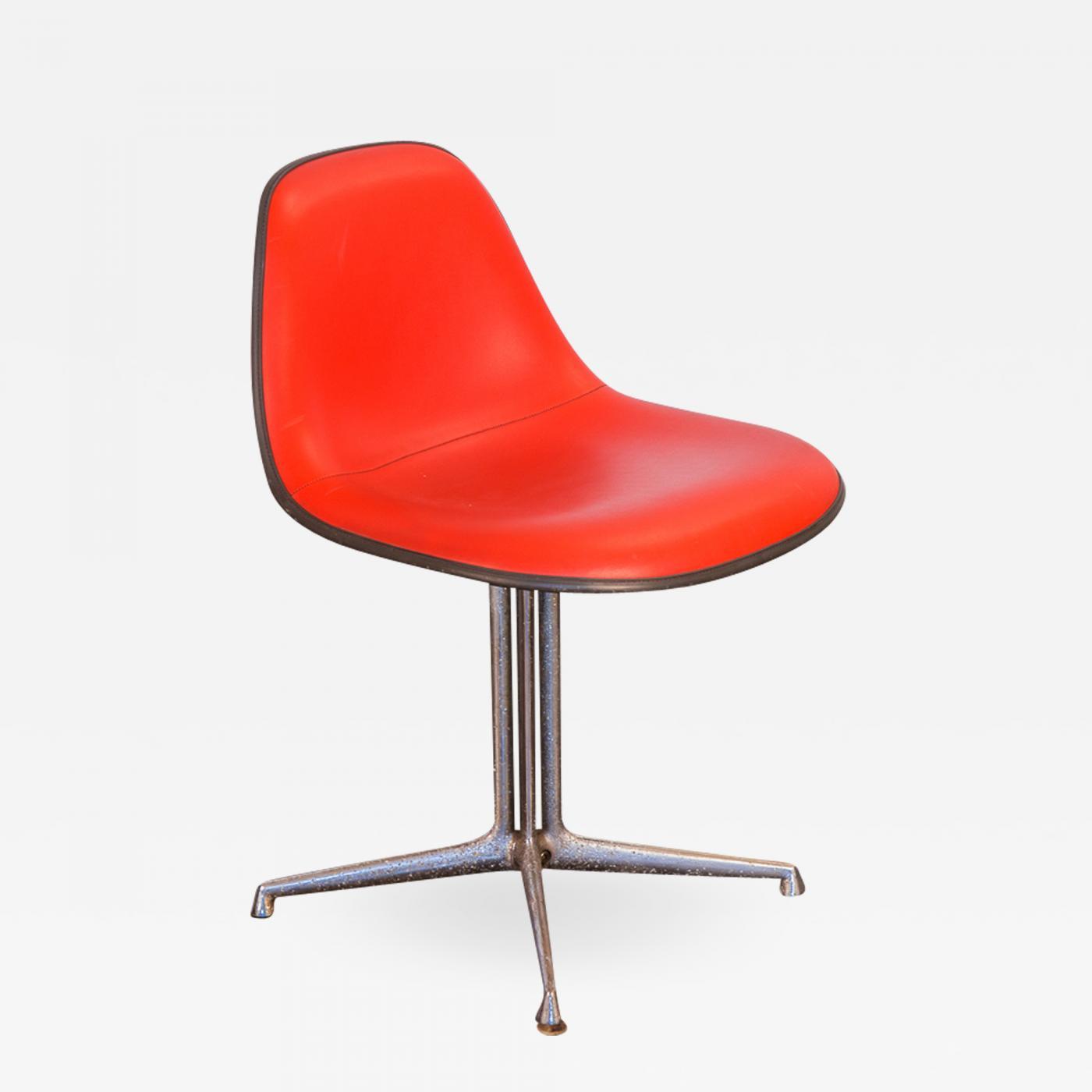 Charles And Ray Eames Red La Fonda Eames Chair