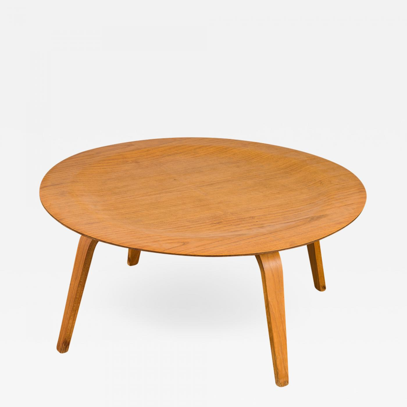 Charles And Ray Eames Vintage Eames Molded Coffee Table Wood
