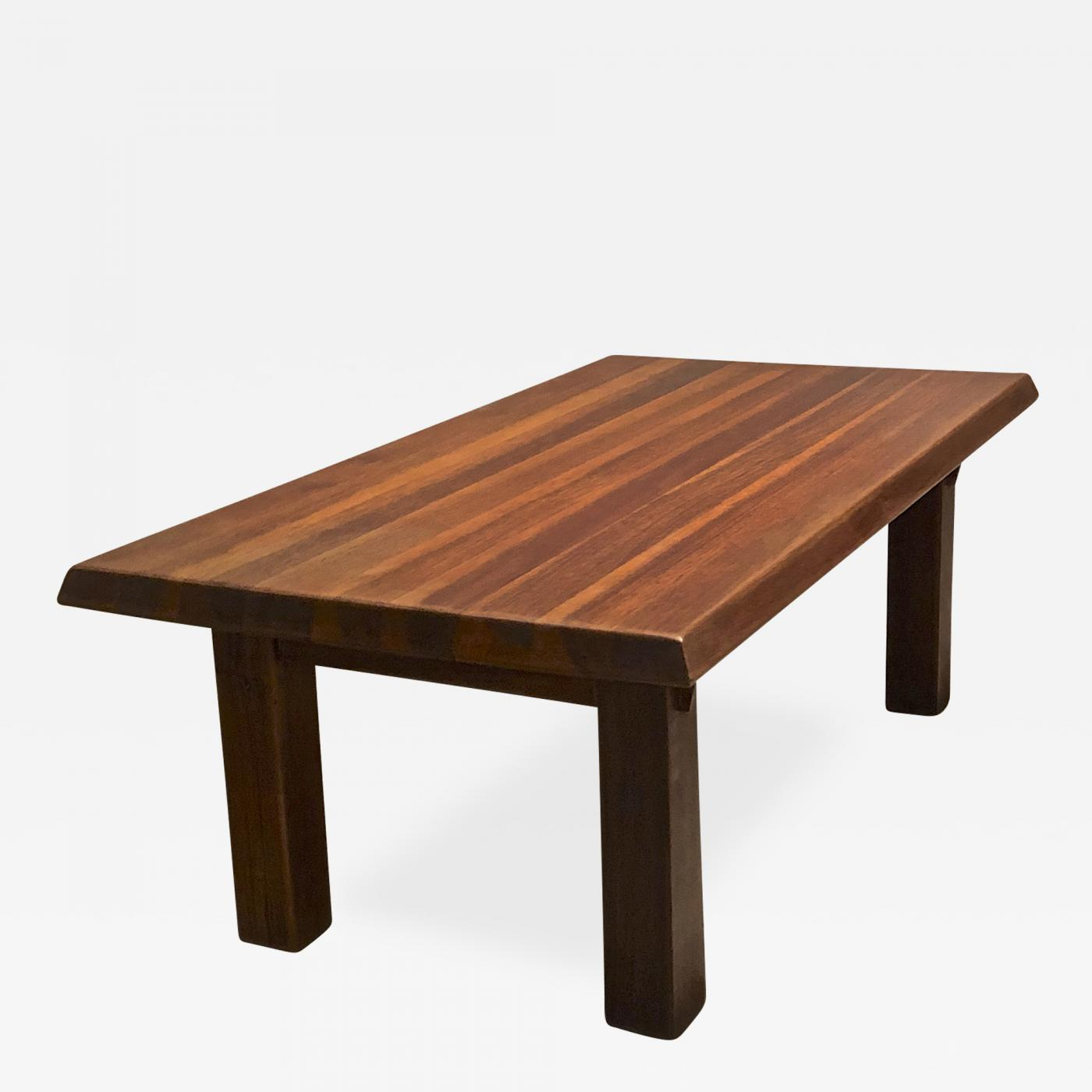 Prime Charlotte Perriand Brazil Organic Mahogany Coffee Table Ocoug Best Dining Table And Chair Ideas Images Ocougorg