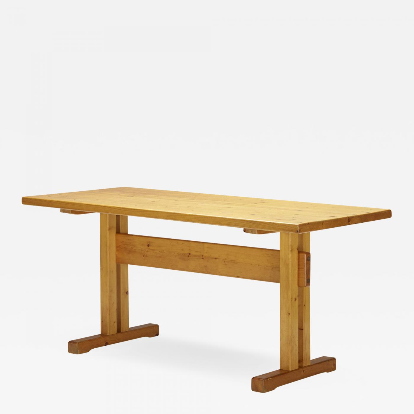 Astounding Charlotte Perriand Charlotte Perriand Dining Table From Les Arcs Savoie Ocoug Best Dining Table And Chair Ideas Images Ocougorg