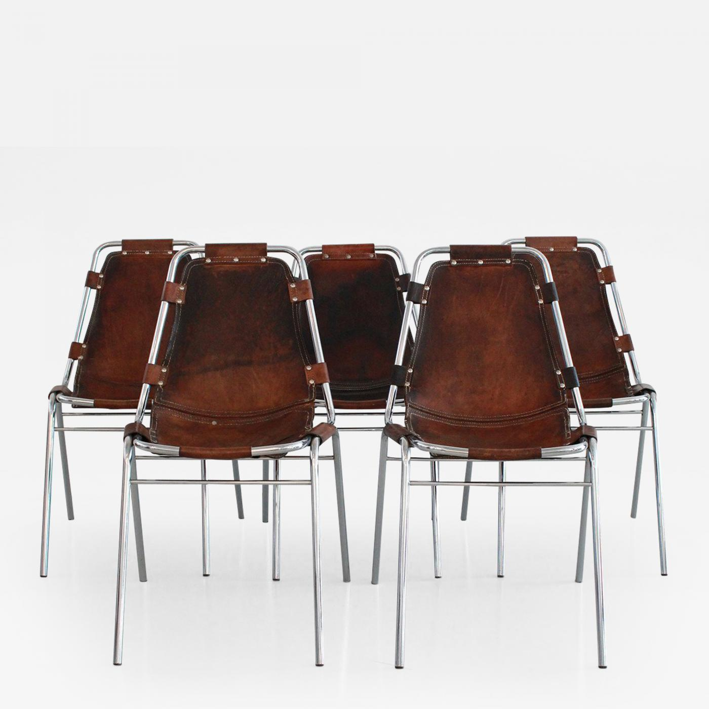 charlotte perriand les arcs chairs. Black Bedroom Furniture Sets. Home Design Ideas