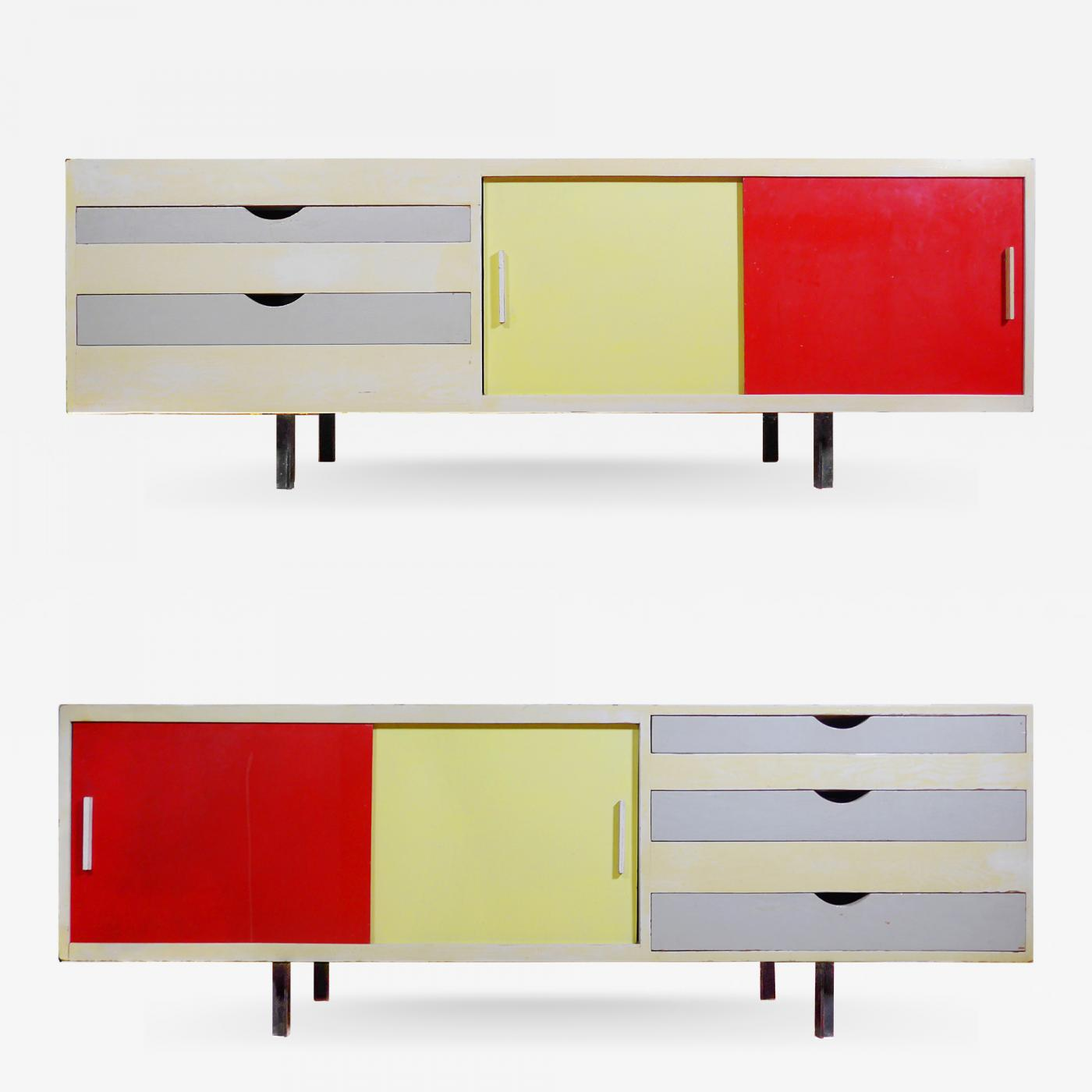 Listings / Furniture / Case Pieces u0026 Storage / Cabinets  sc 1 st  Incollect & John Sweeny - Chicago Bauhaus Artistu0027s Supply Cabinet