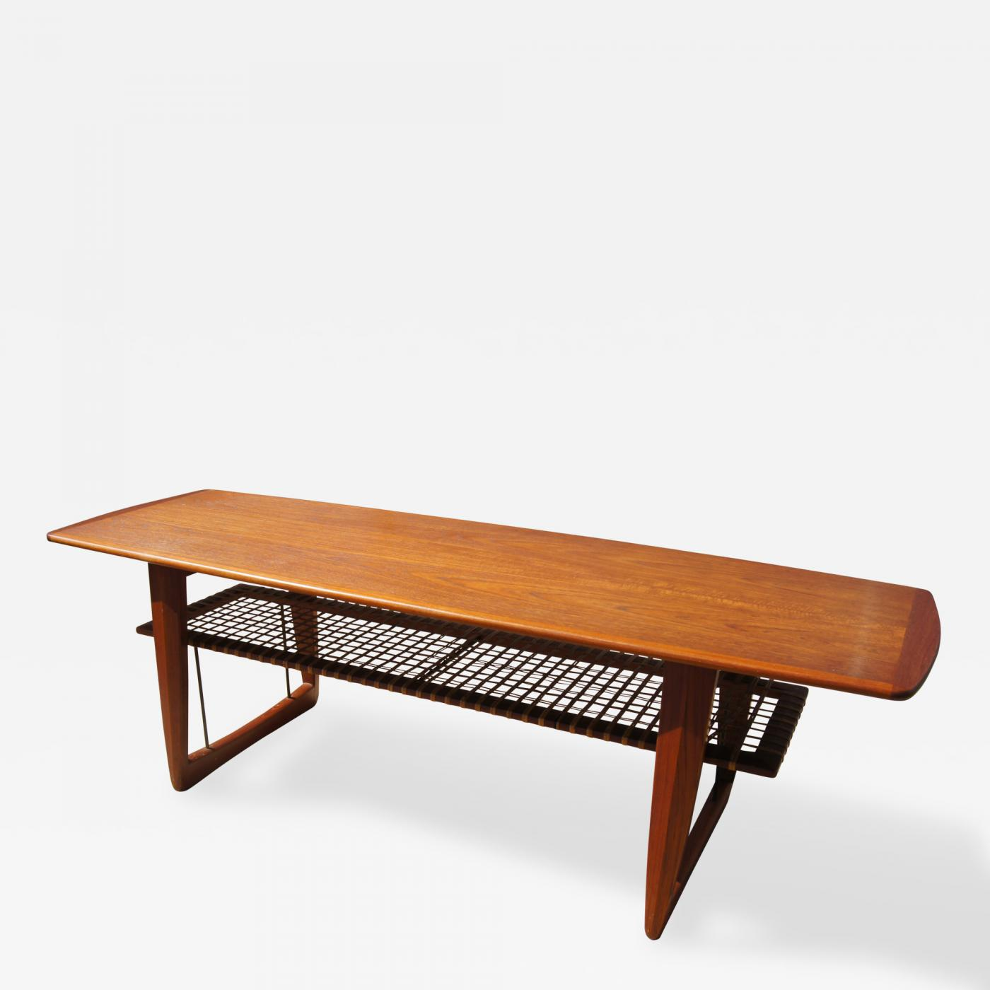 Danish Modern Coffee Table In The Style Of Peter Hvidt Orla M Lgaard Nielsen