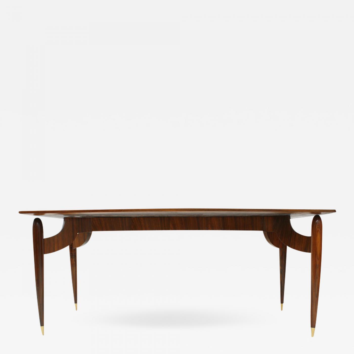 Magnificent Carlo Mollino In The Style Of Carlo Mollino Mid Century Rosewood Dining Table Italy 1950S Inzonedesignstudio Interior Chair Design Inzonedesignstudiocom