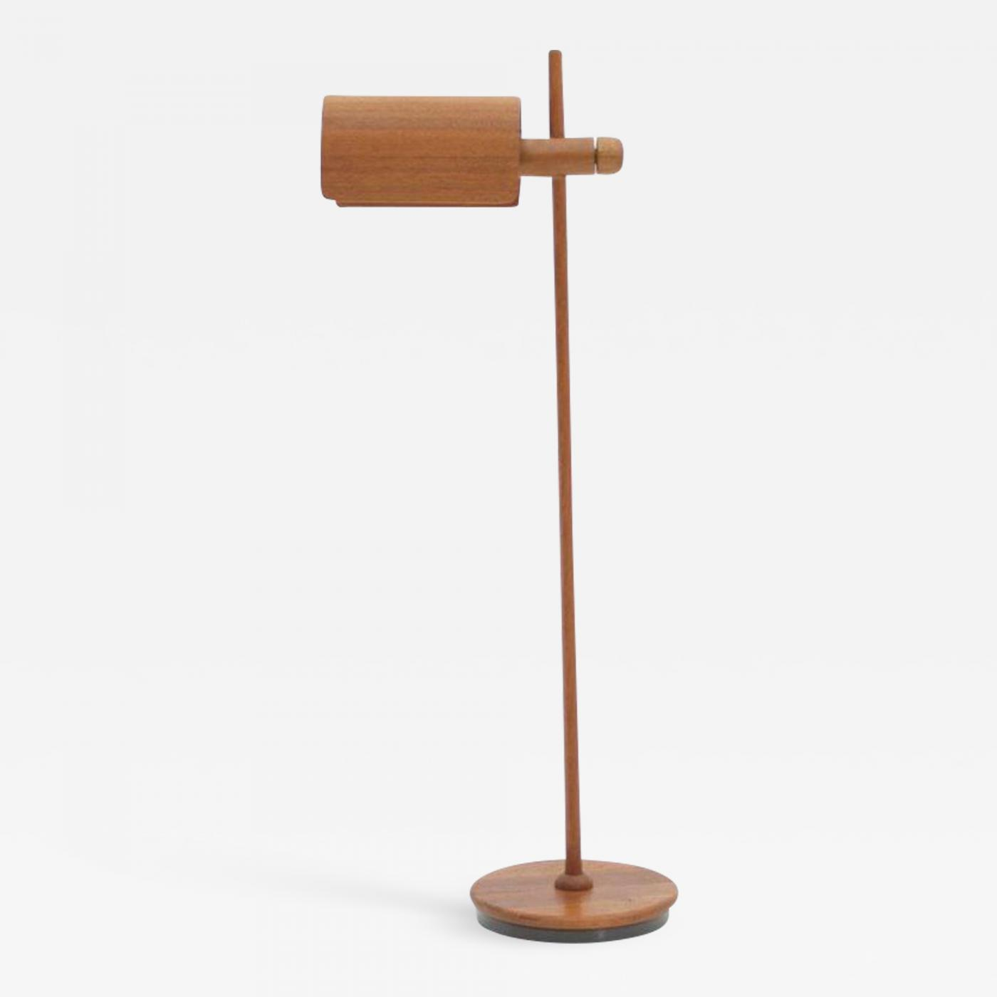 check out 4616c 0377c Domus Adjustable Teak Floor Lamp, Denmark, 1960s