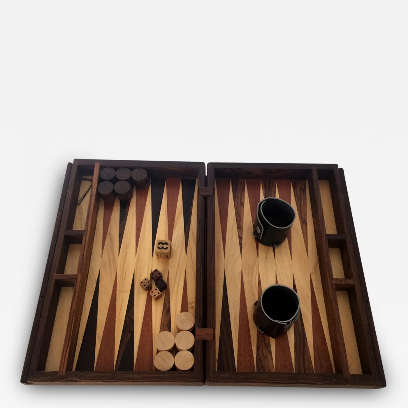 listings decorative arts decorative objects boxes u0026 baskets don s shoemaker handmade backgammon game - Backgammon Game