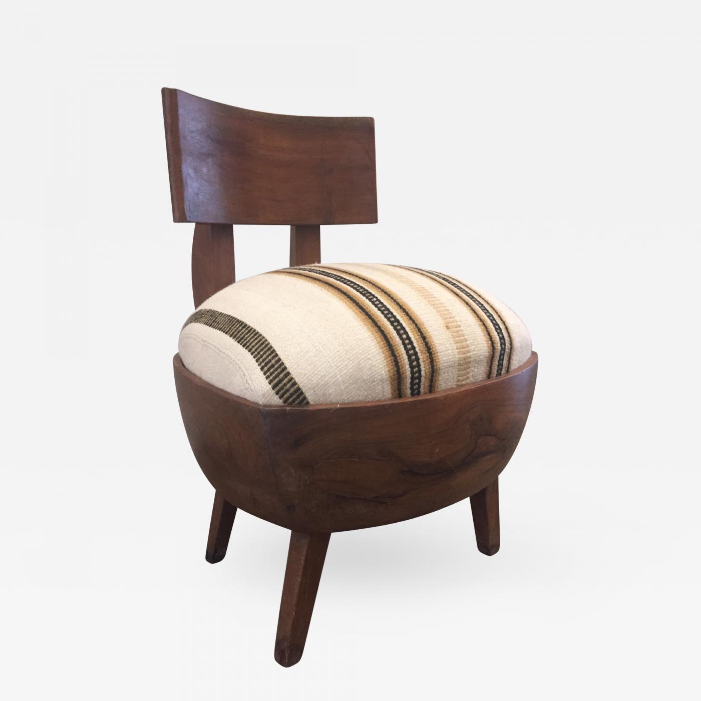 Cool Early French Art Deco Petite Slipper Chair Creativecarmelina Interior Chair Design Creativecarmelinacom