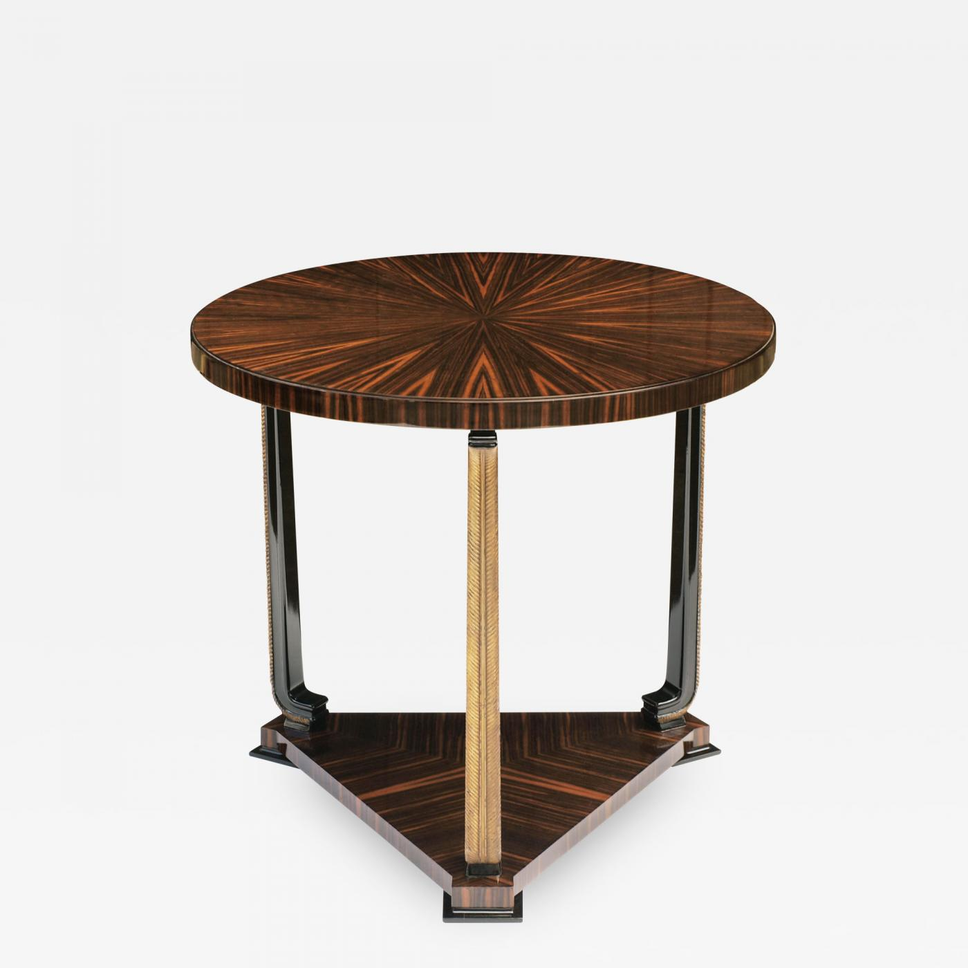 Listings / Furniture / Tables / Center Tables · Ebony Macassar ...