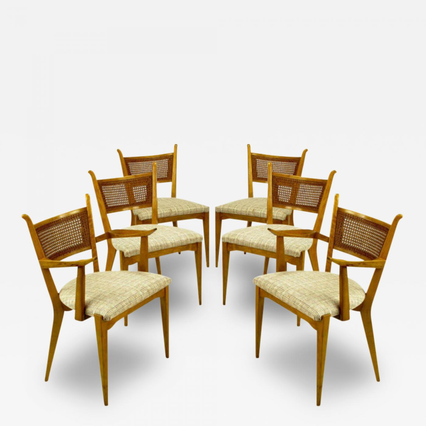 Edmond Spence Set Six Edmond Spence Swedish Dining Chairs